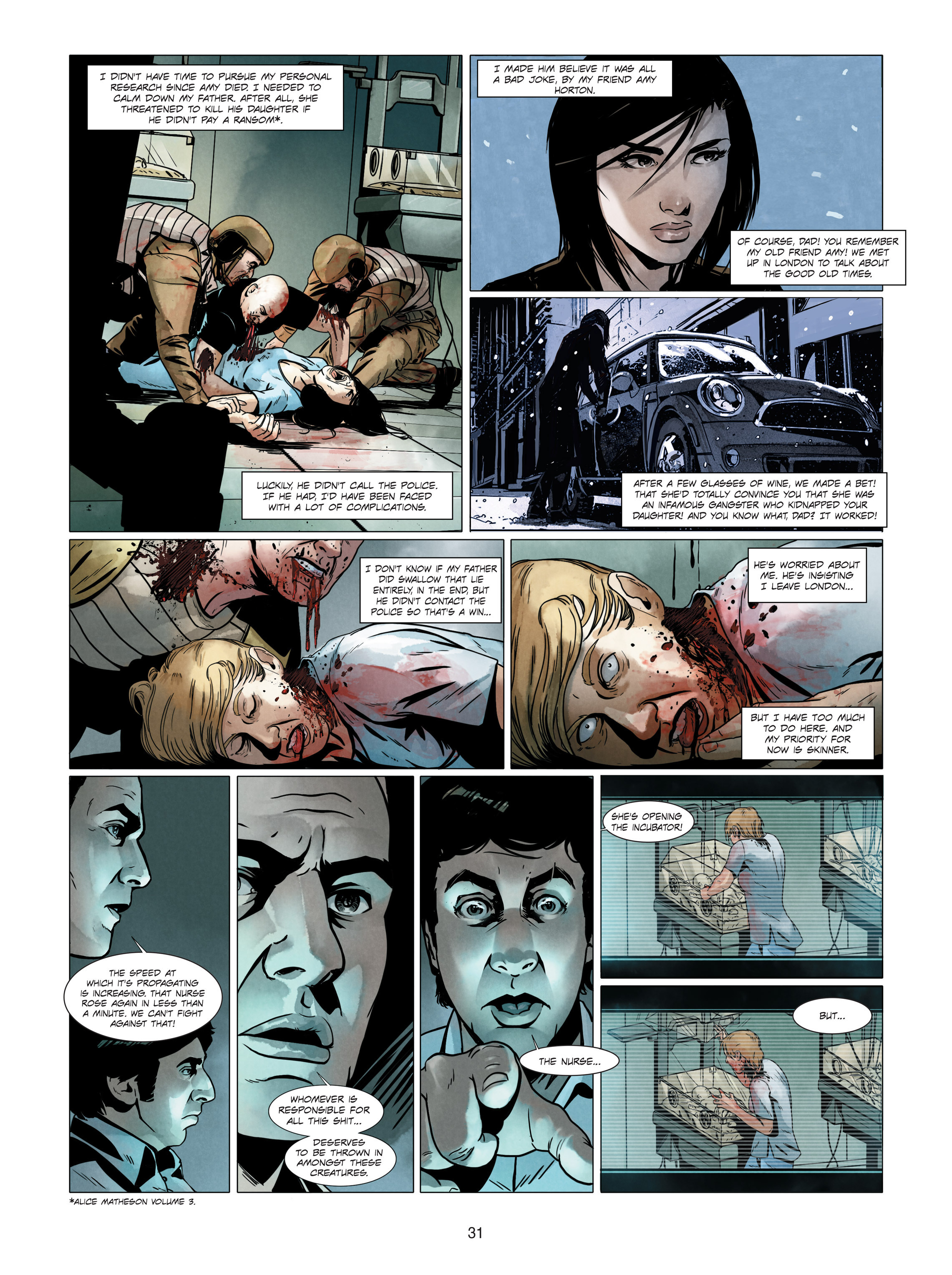Read online Alice Matheson comic -  Issue #4 - 31