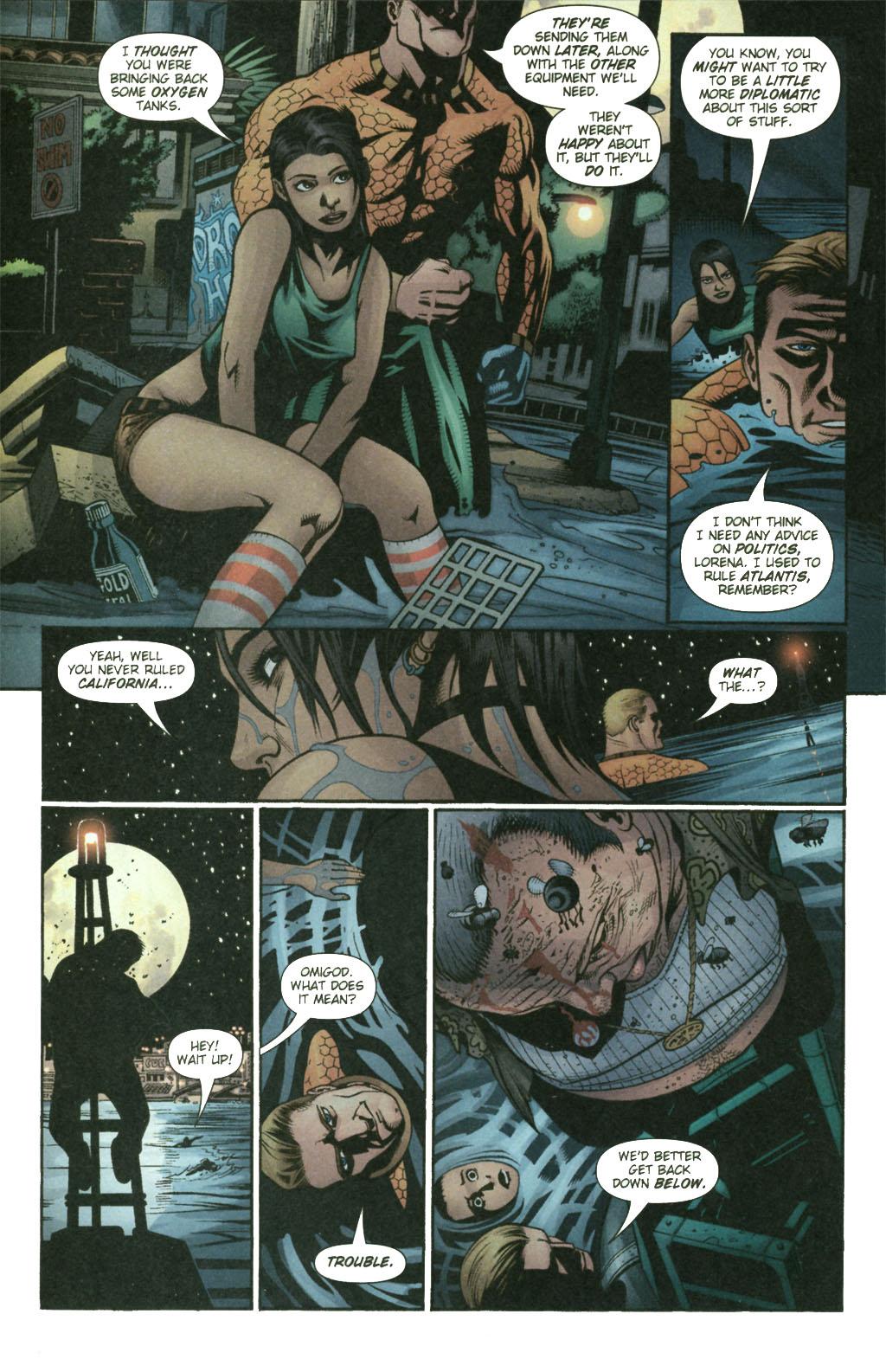 Read online Aquaman (2003) comic -  Issue #21 - 13