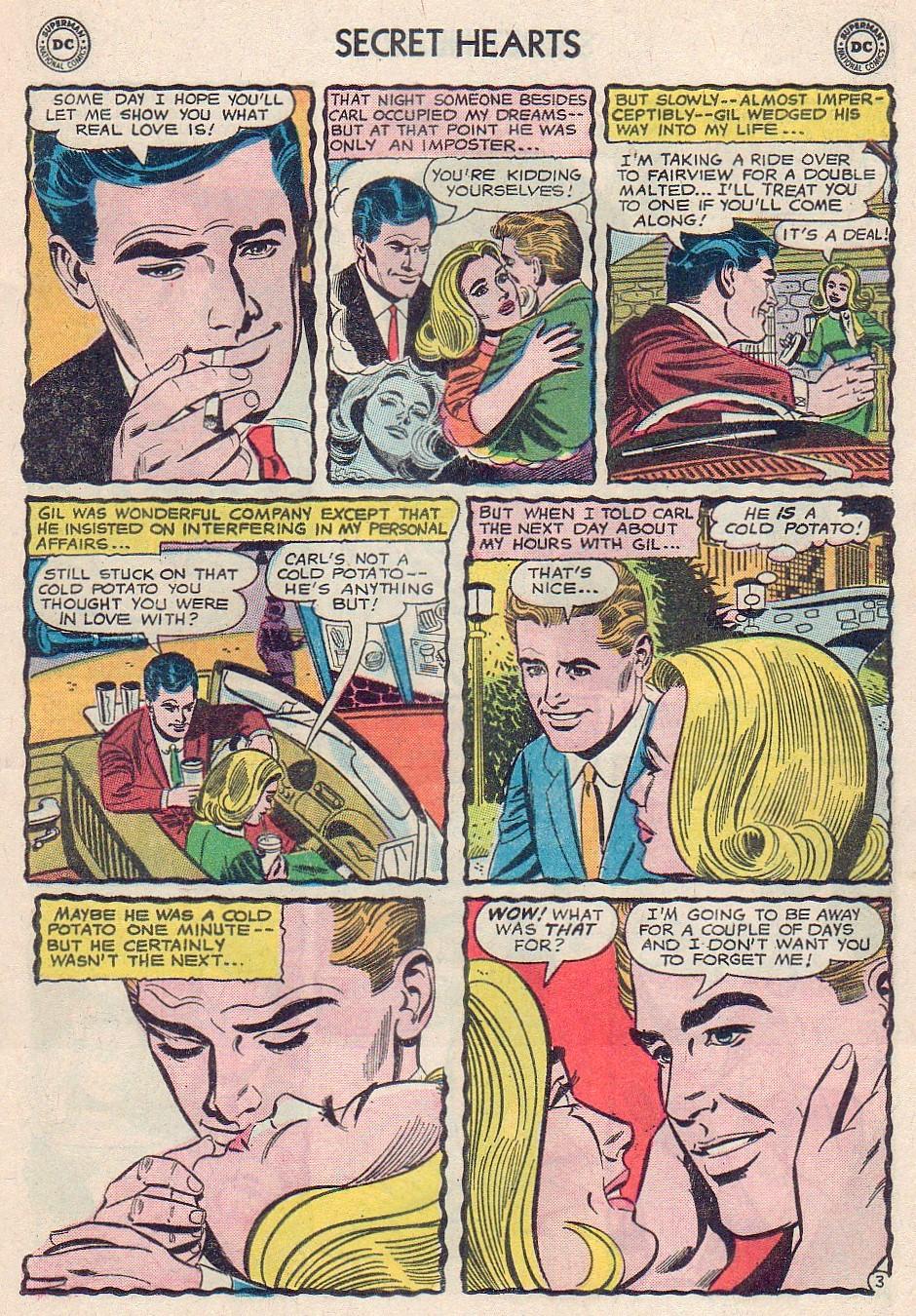 Read online Secret Hearts comic -  Issue #102 - 13