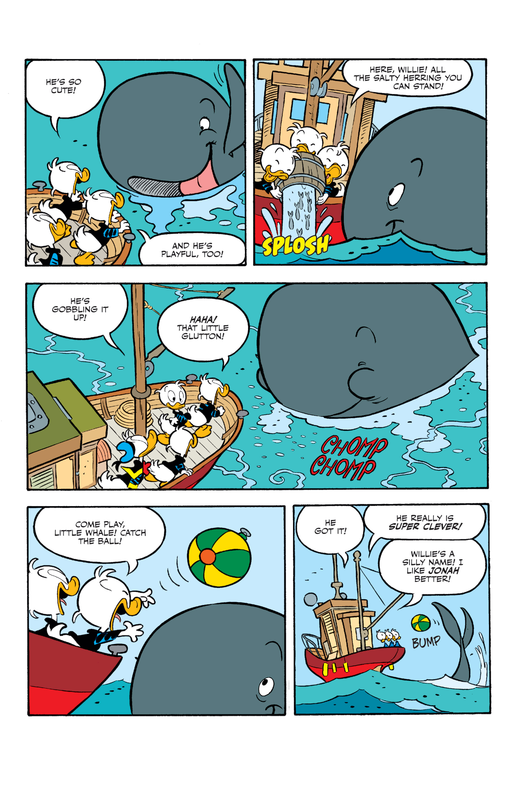 Read online Donald Duck (2015) comic -  Issue #20 - 21