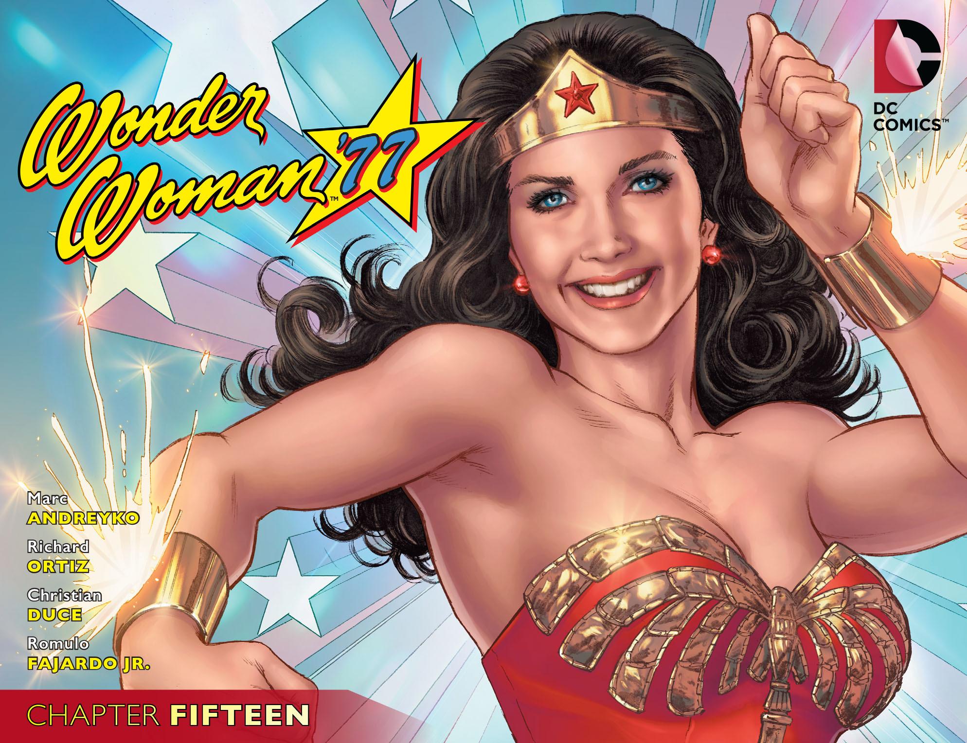Read online Wonder Woman '77 [I] comic -  Issue #15 - 1
