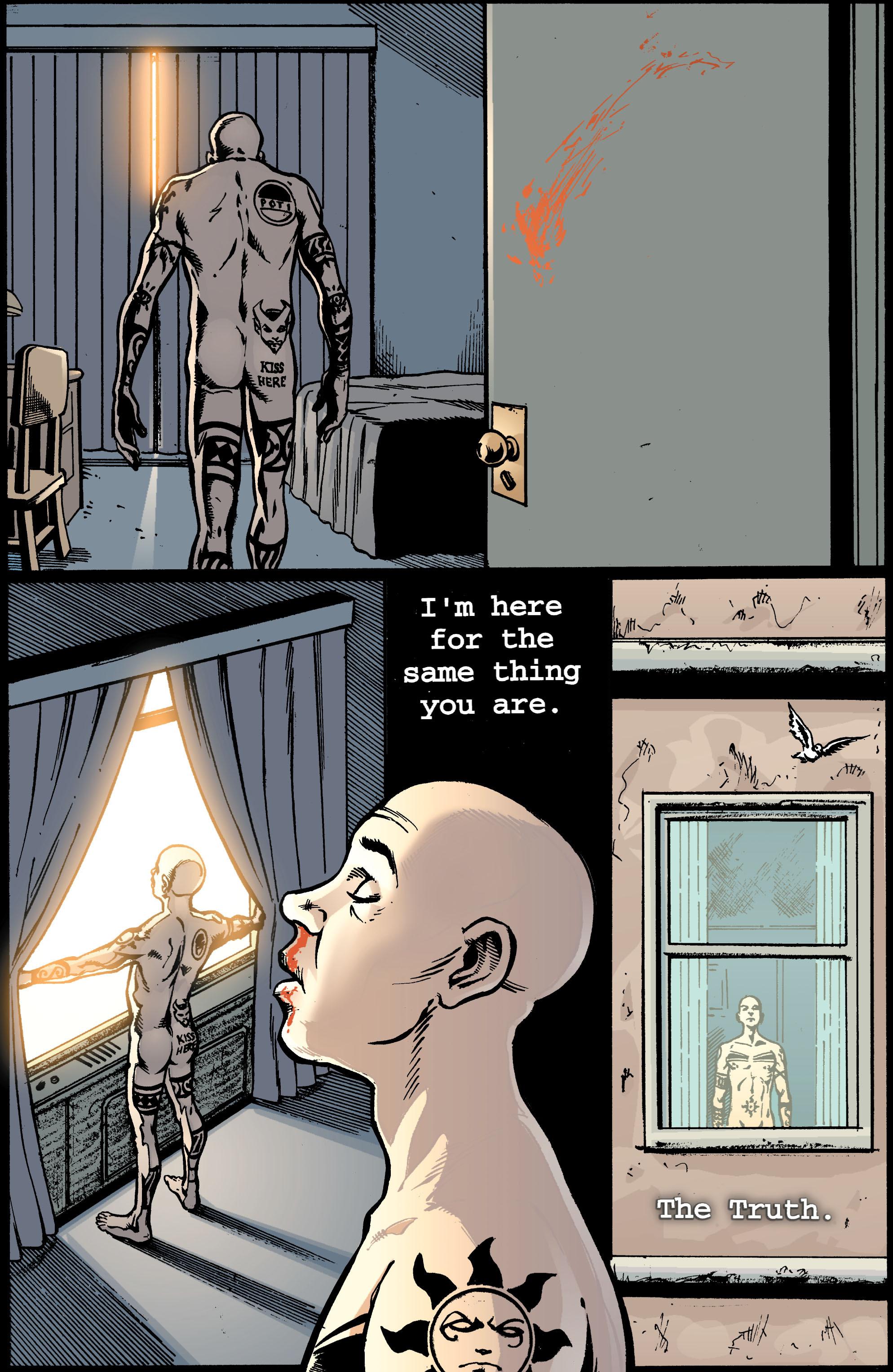 Read online Transmetropolitan comic -  Issue #39 - 17