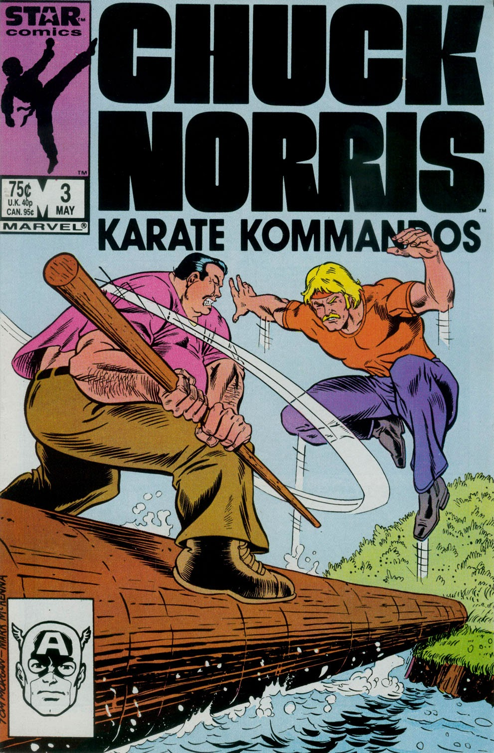 Chuck Norris and the Karate Kommandos 3 Page 1