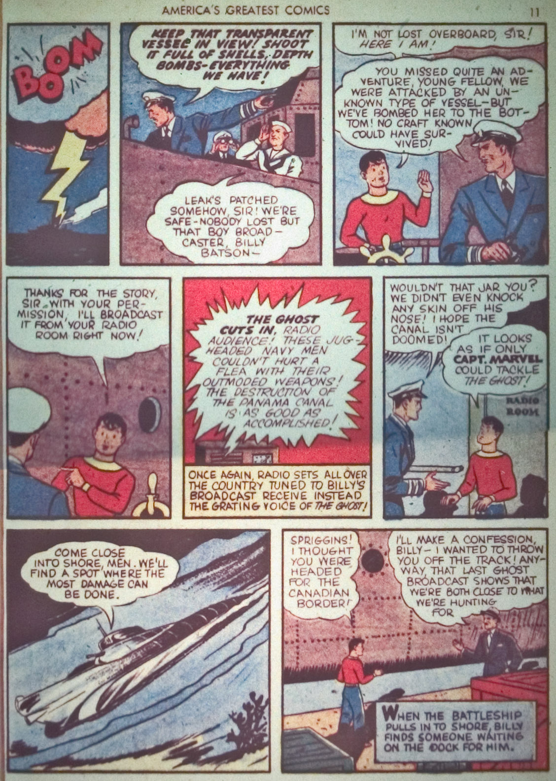 Read online America's Greatest Comics comic -  Issue #1 - 14