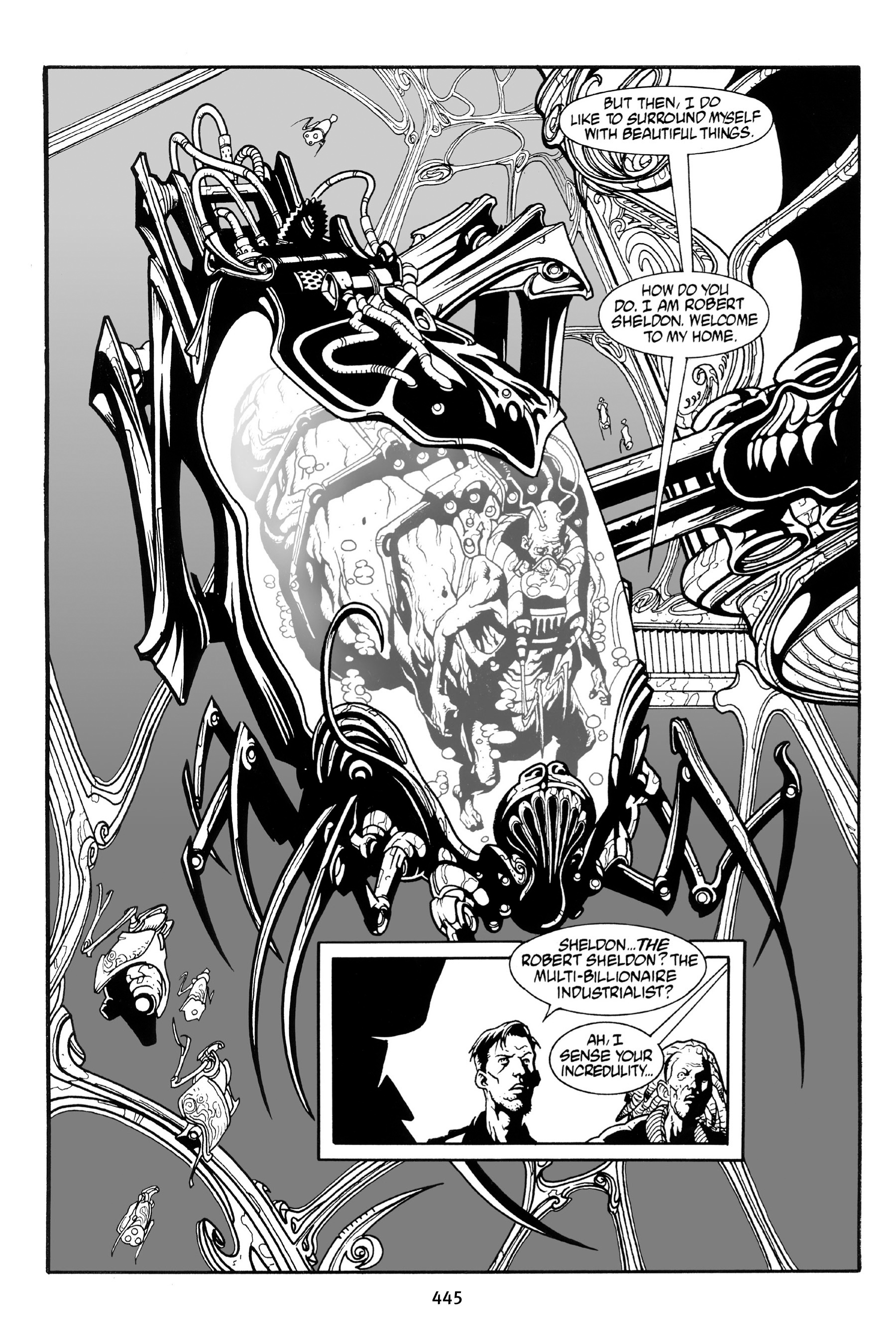 Read online Aliens vs. Predator Omnibus comic -  Issue # _TPB 1 Part 4 - 134