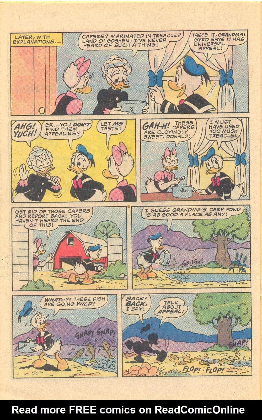 Read online Walt Disney Daisy and Donald comic -  Issue #47 - 24