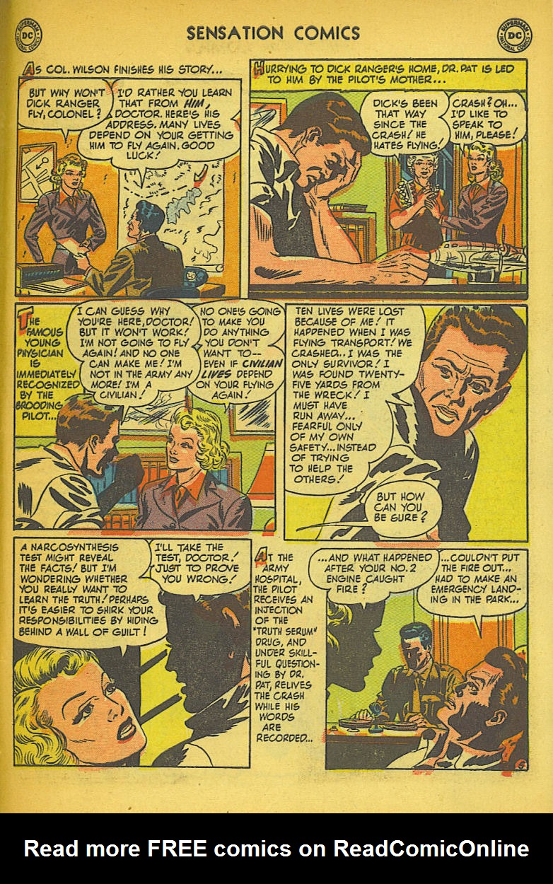 Read online Sensation (Mystery) Comics comic -  Issue #104 - 45