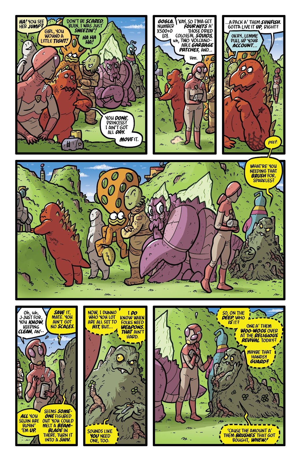 Read online Kaijumax: Season Four comic -  Issue #4 - 10