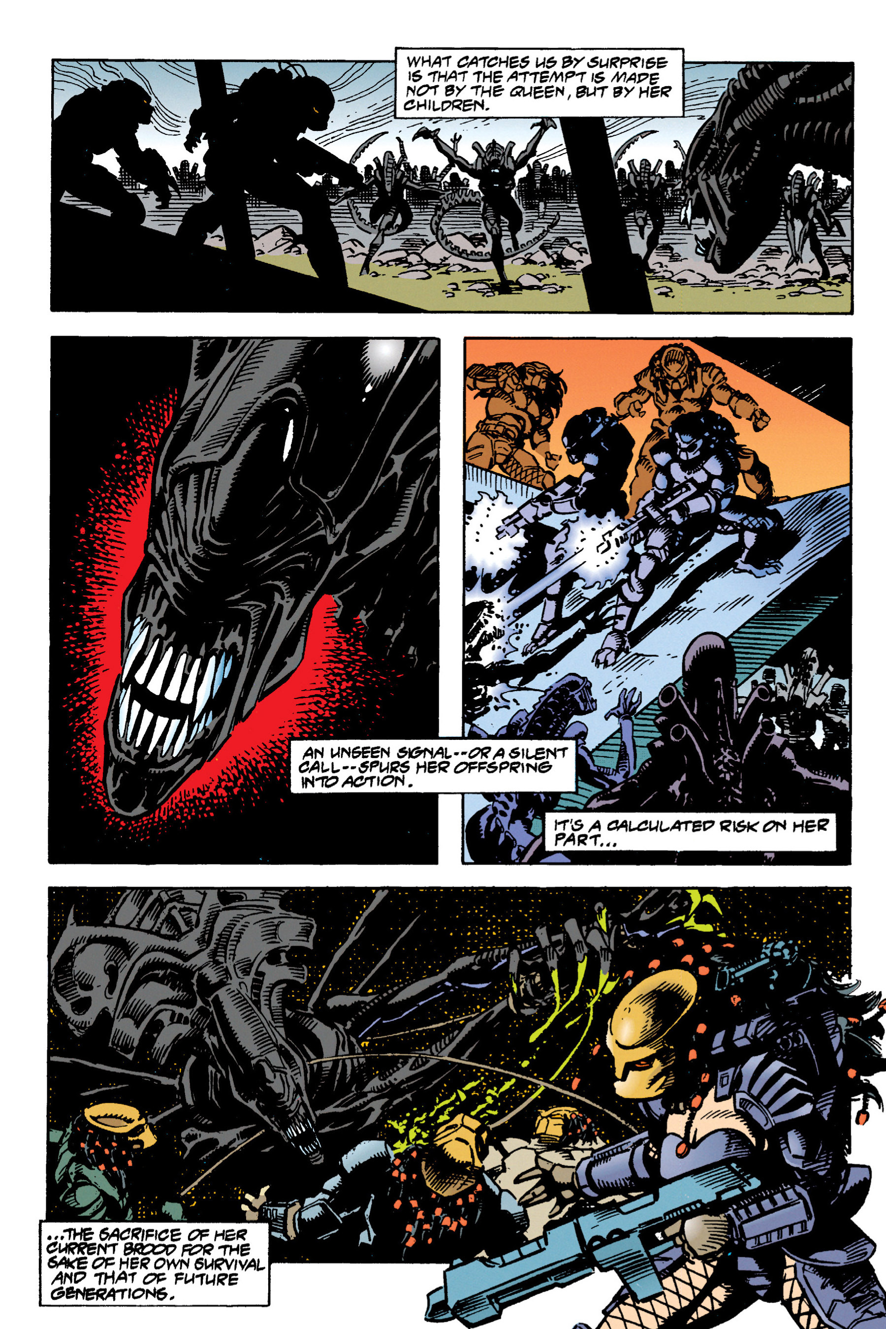 Read online Aliens vs. Predator Omnibus comic -  Issue # _TPB 1 Part 3 - 29