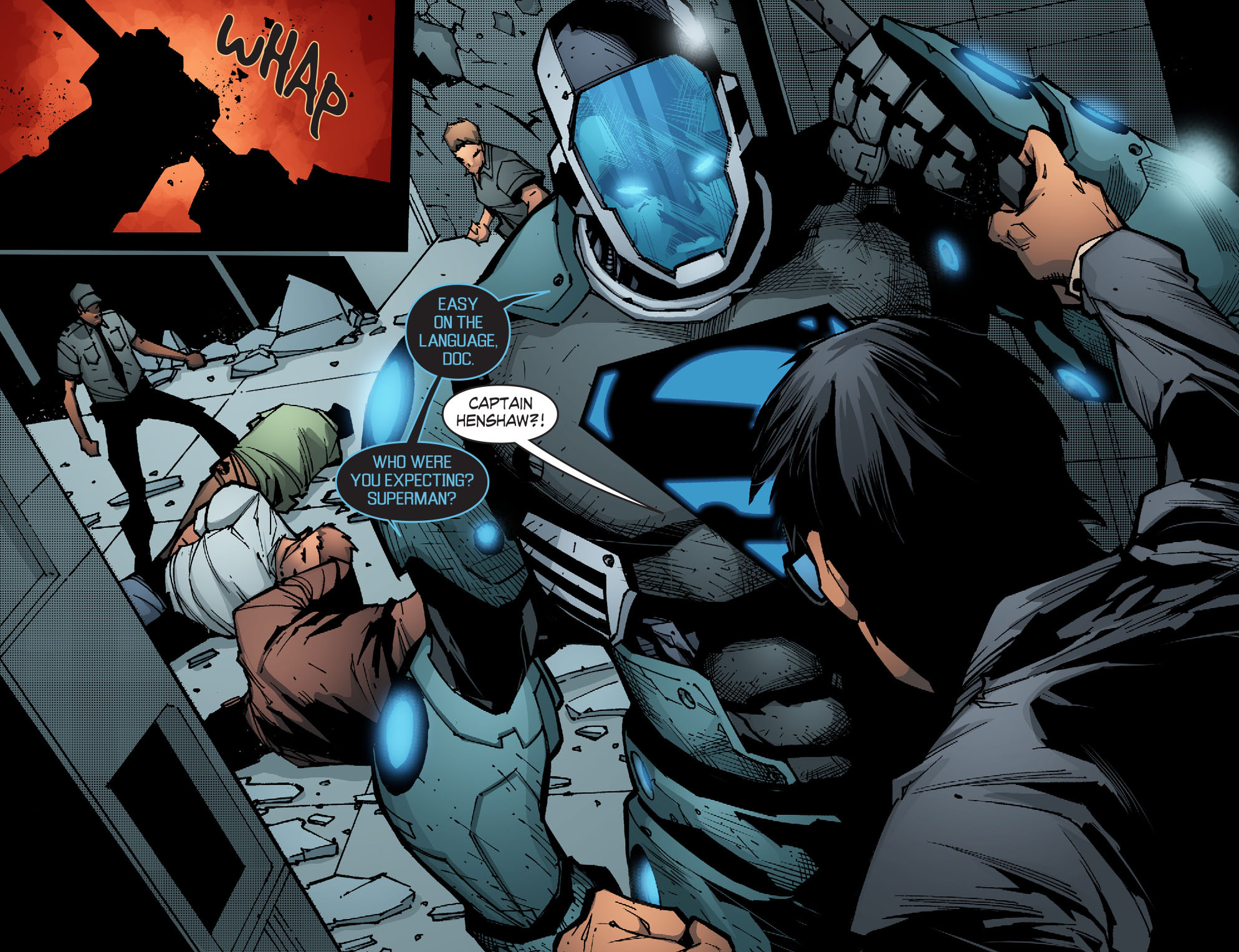 Read online Smallville: Chaos [II] comic -  Issue #5 - 12