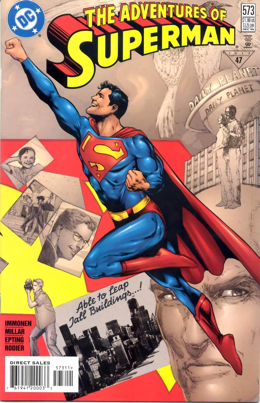 Read online Adventures of Superman (1987) comic -  Issue #573 - 1