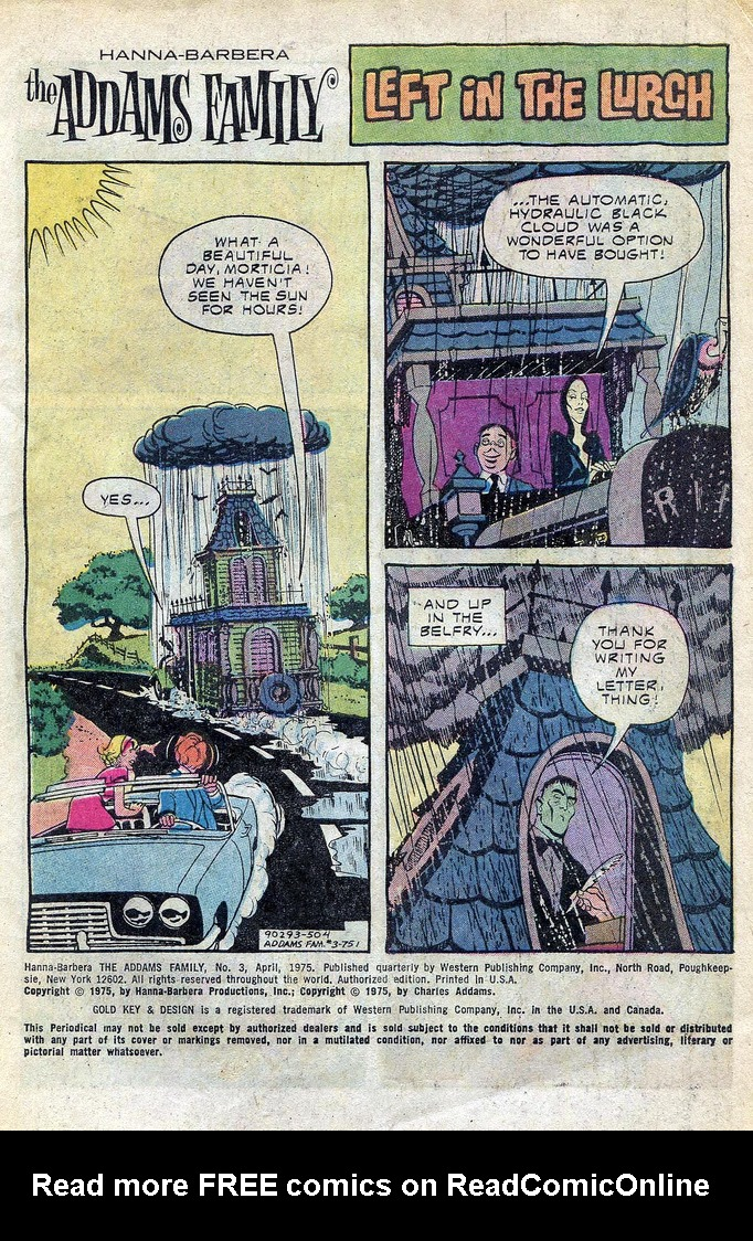 Read online Addams Family comic -  Issue #3 - 23