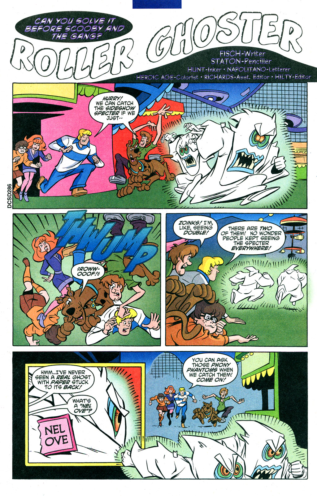 Read online Scooby-Doo (1997) comic -  Issue #91 - 20