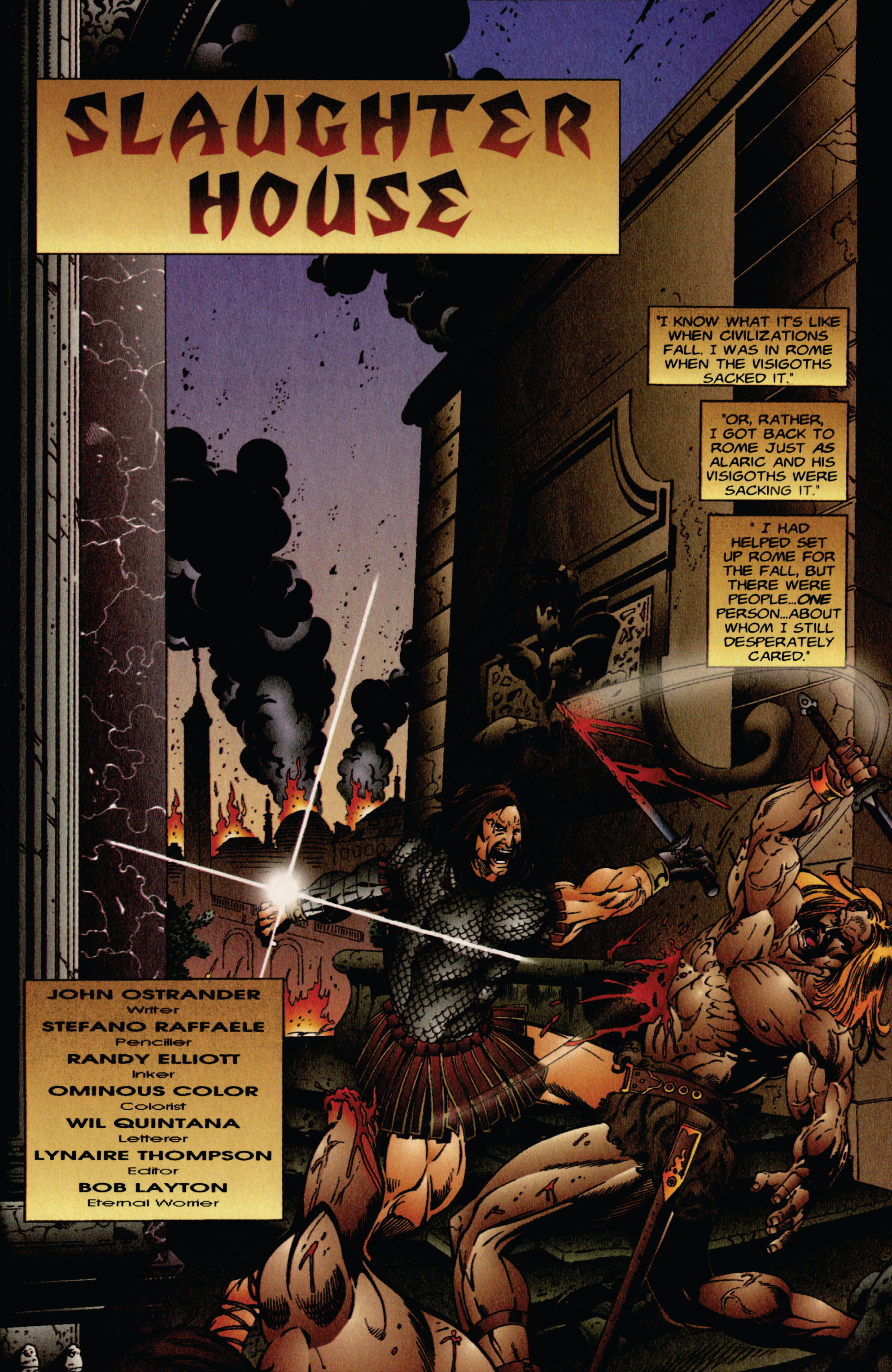 Read online Eternal Warrior (1992) comic -  Issue #41 - 2