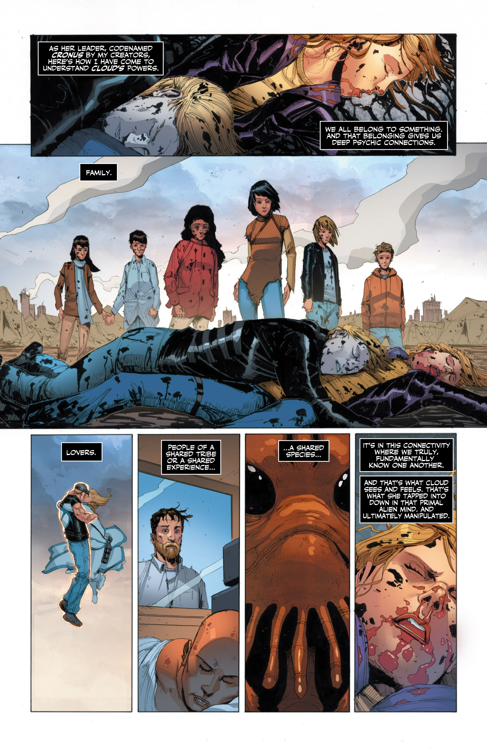 Read online Armor Hunters: Harbinger comic -  Issue # TPB - 75
