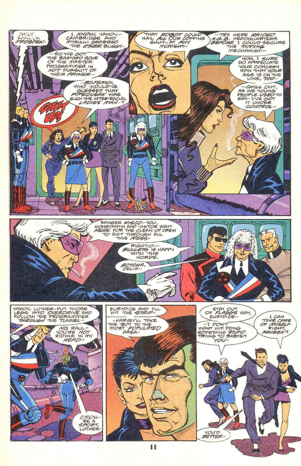 Howard Chaykin's American Flagg issue 12 - Page 13