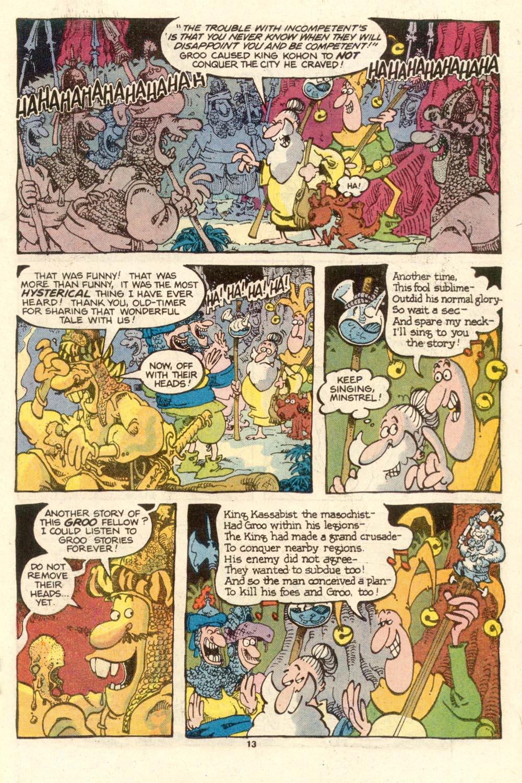 Read online Sergio Aragonés Groo the Wanderer comic -  Issue #27 - 13