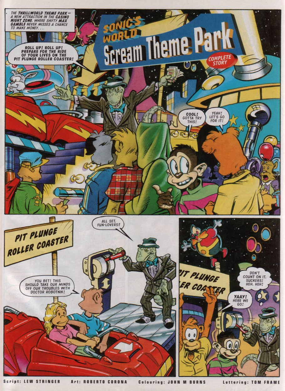 Read online Sonic the Comic comic -  Issue #85 - 26