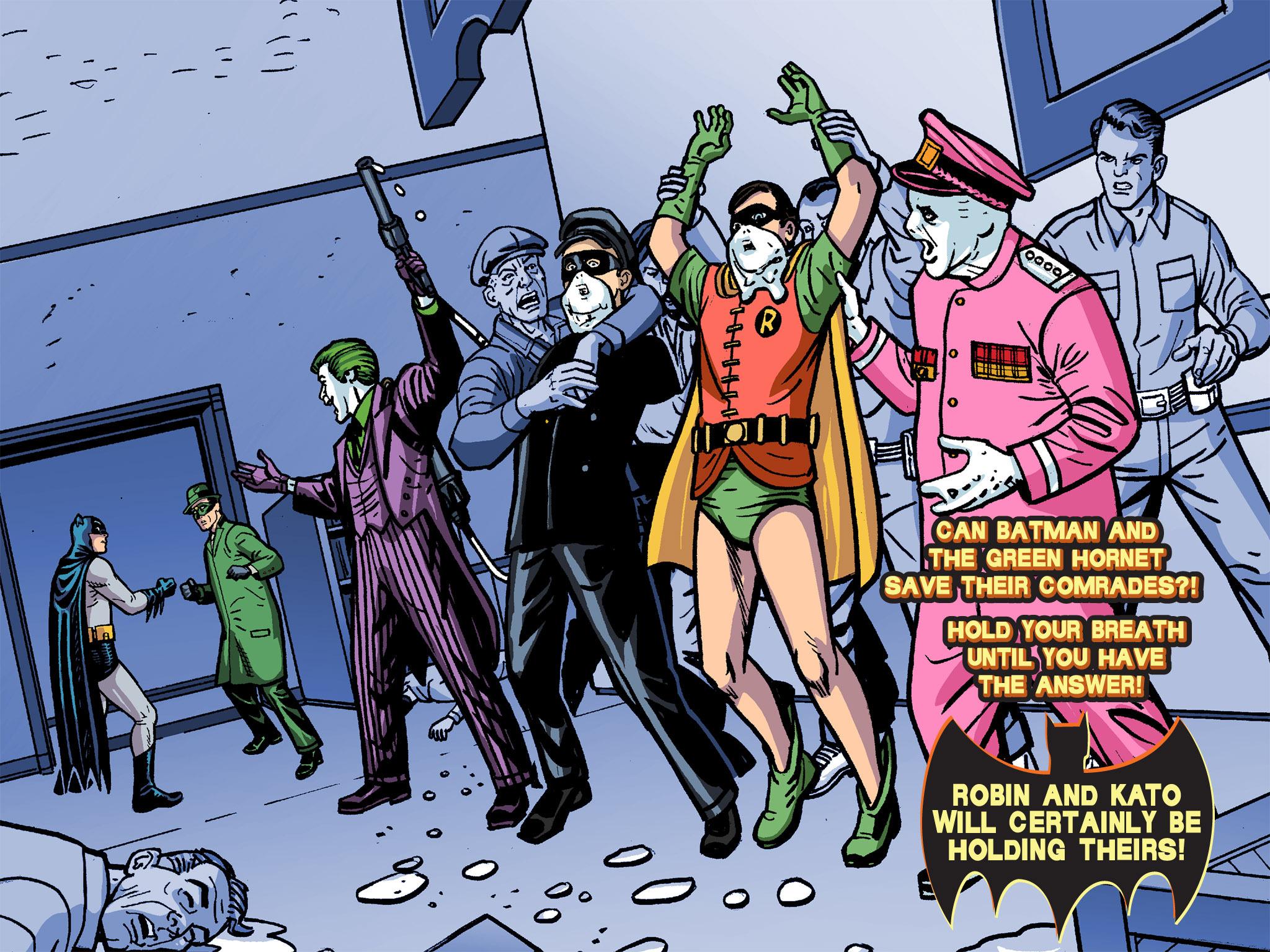 Read online Batman '66 Meets the Green Hornet [II] comic -  Issue #4 - 118