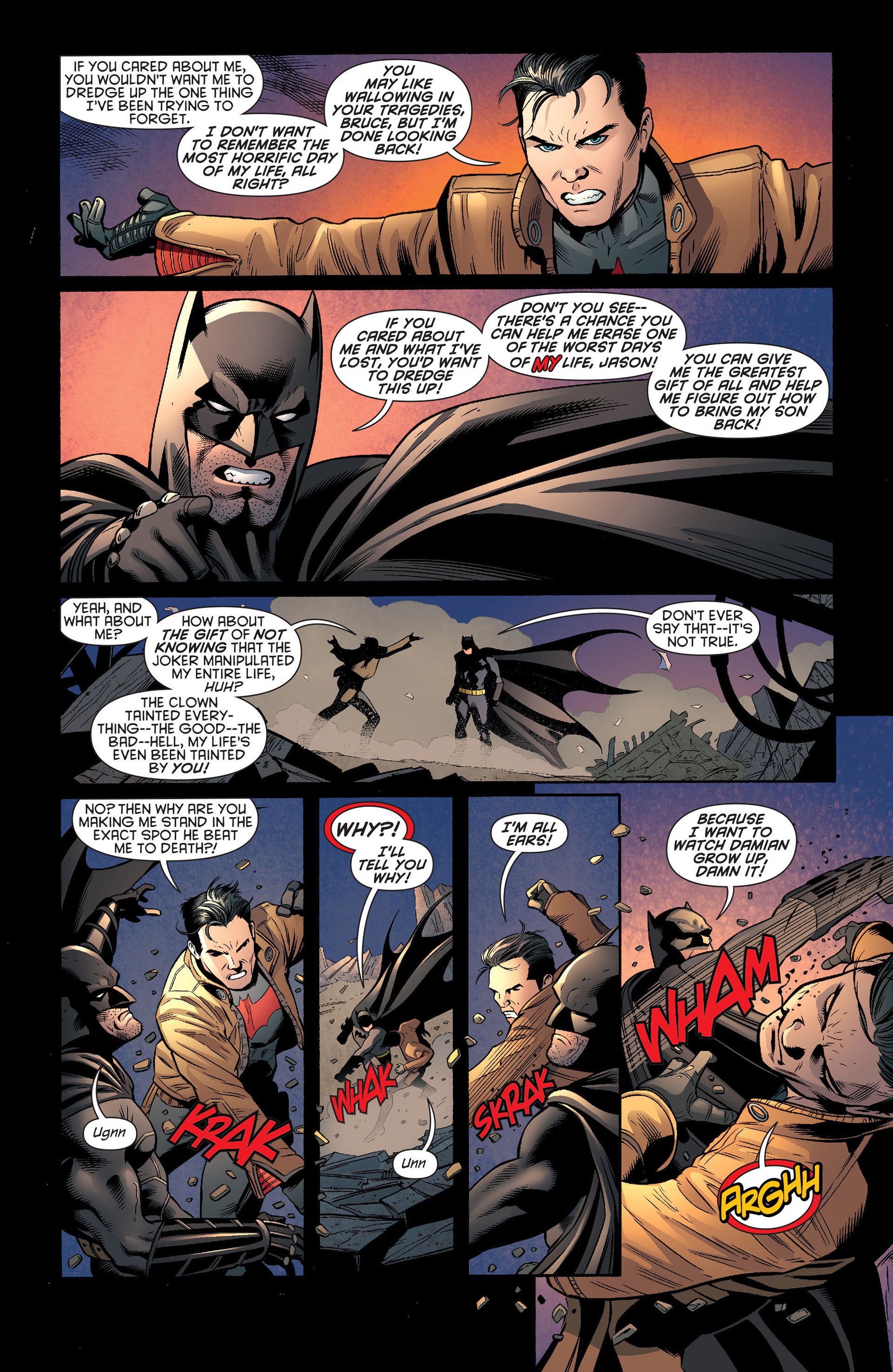 Read online Batman and Robin (2011) comic -  Issue #20 - 18
