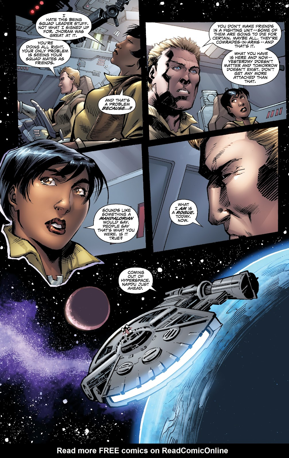 Read online Star Wars Legends: Legacy - Epic Collection comic -  Issue # TPB 2 (Part 5) - 22