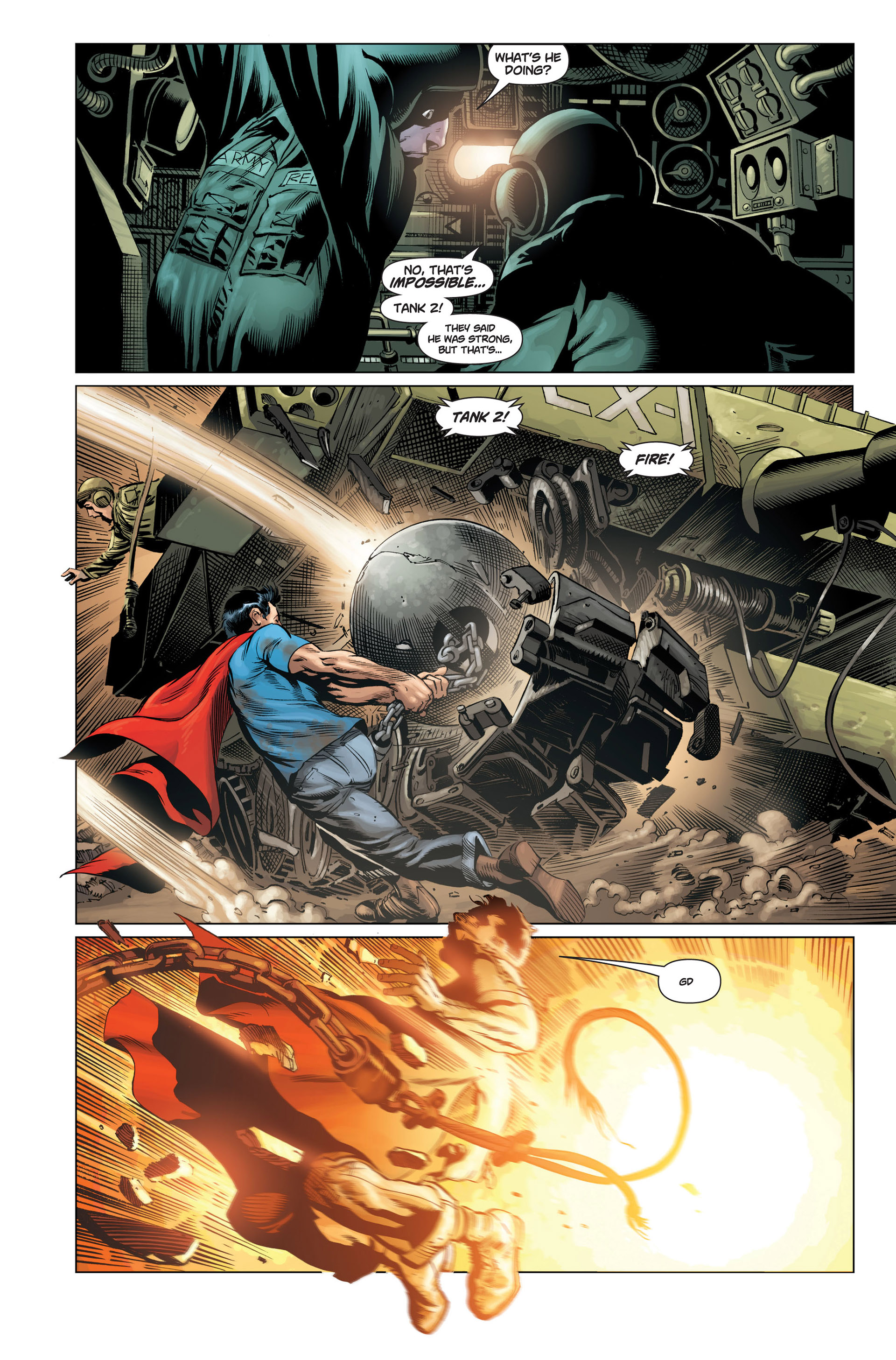 Read online Action Comics (2011) comic -  Issue #1 - 21