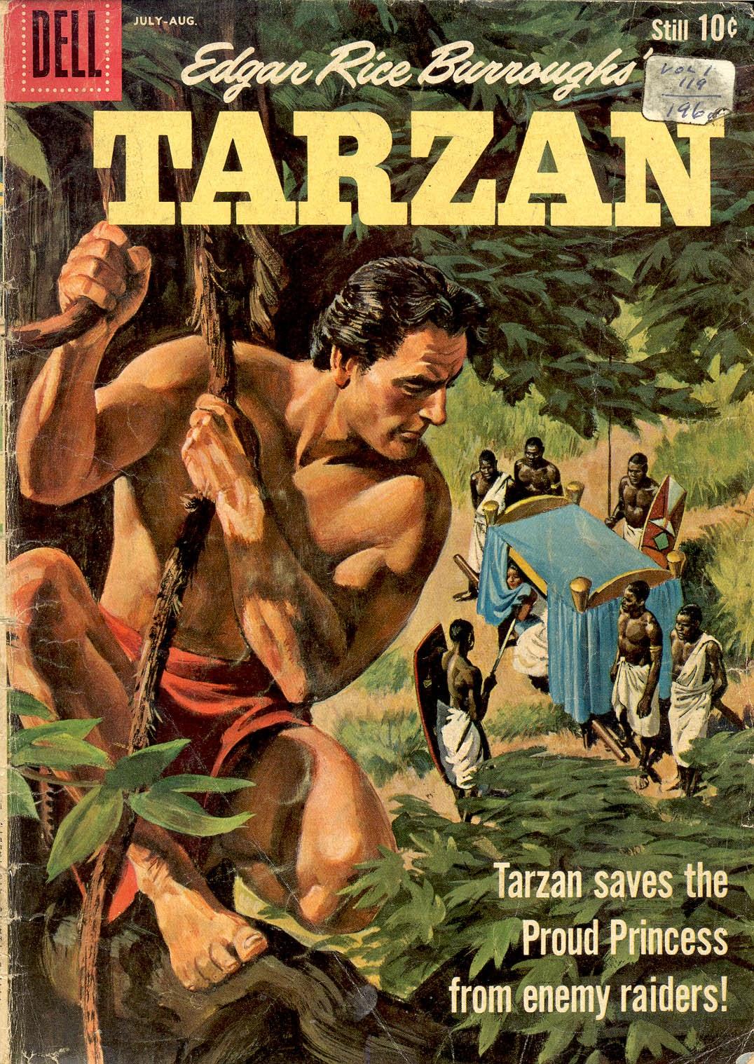 Tarzan (1948) issue 119 - Page 1
