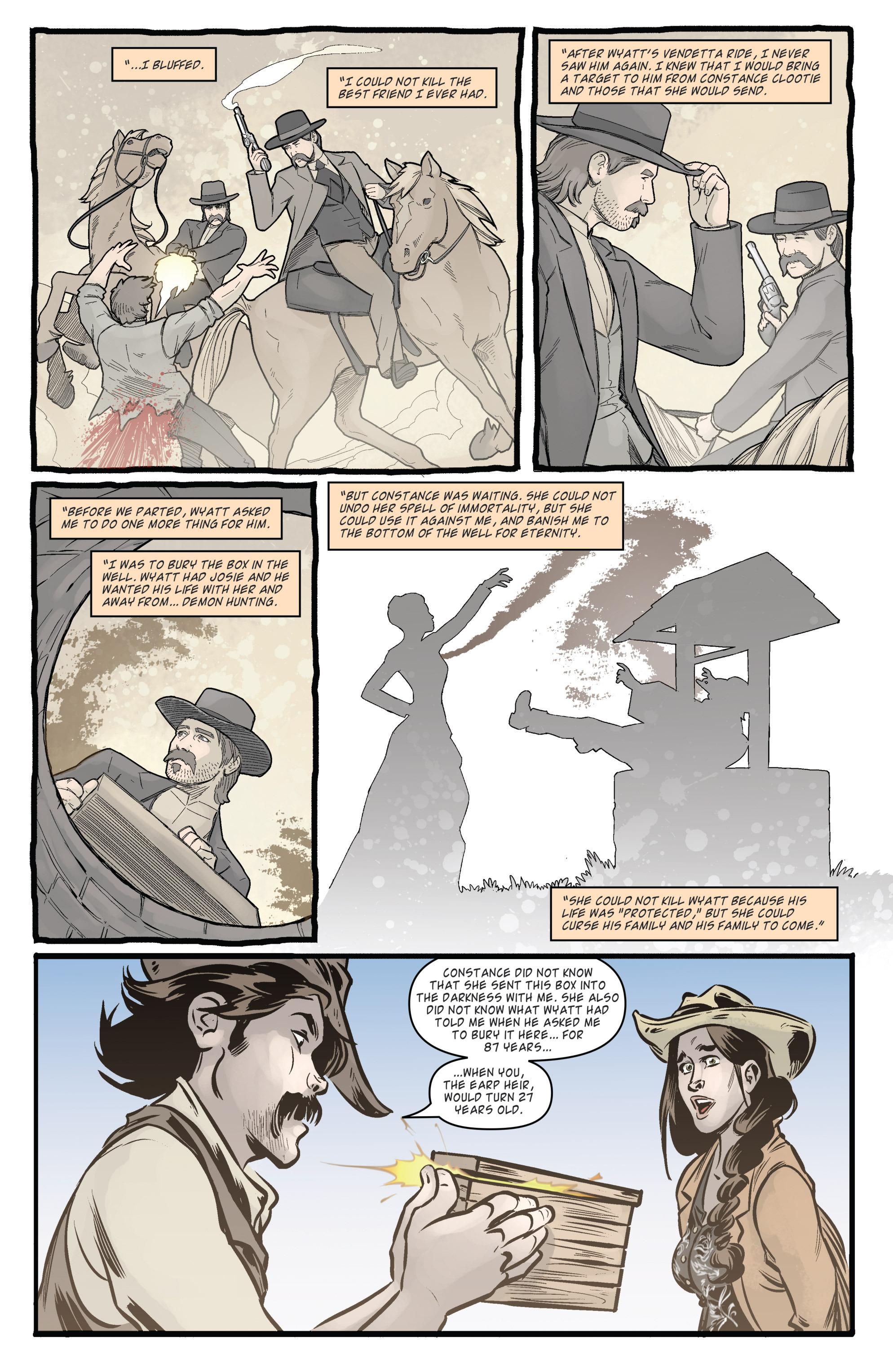 Read online Wynonna Earp (2016) comic -  Issue #5 - 20