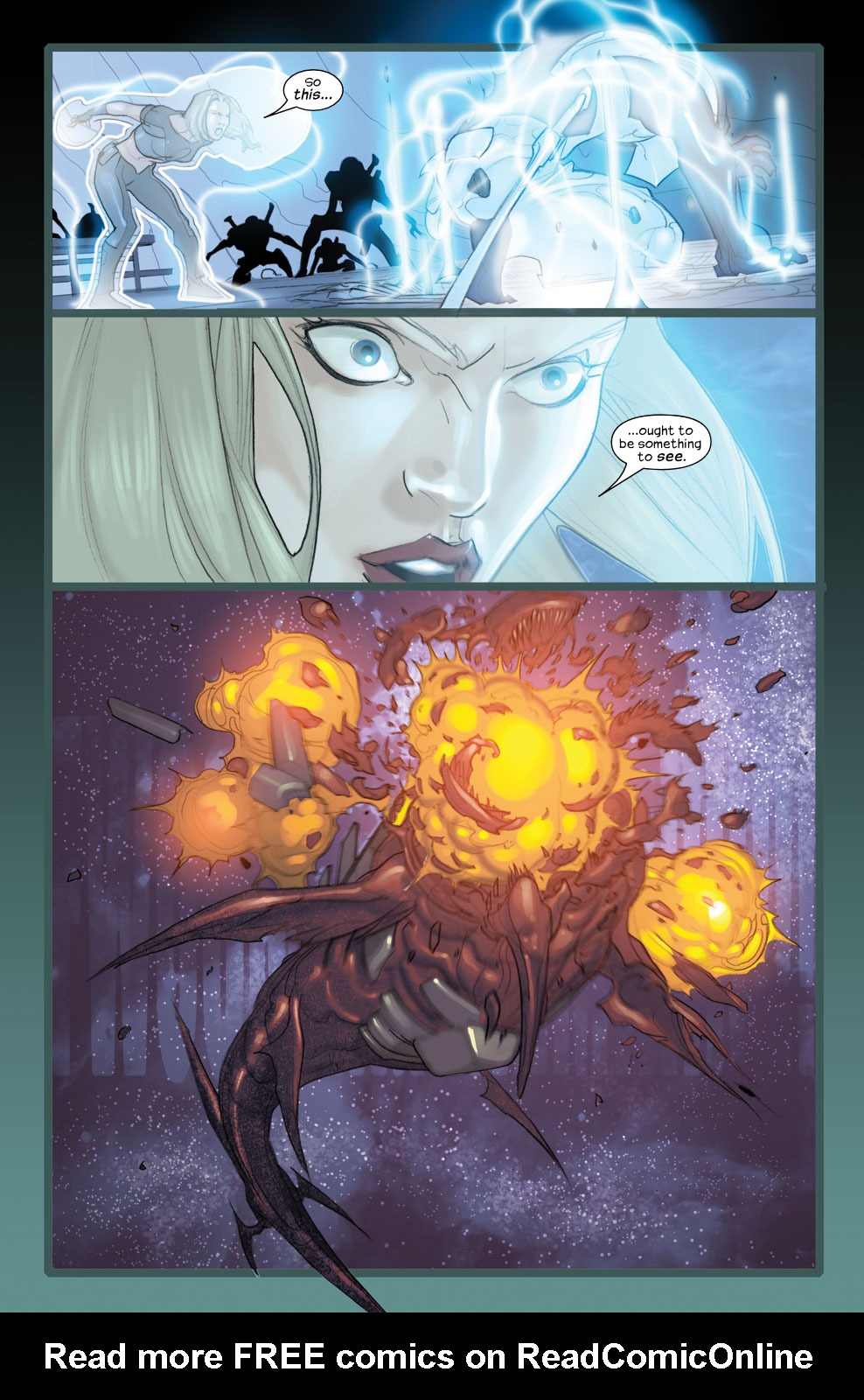 Read online Ultimate Fantastic Four (2004) comic -  Issue #35 - 23