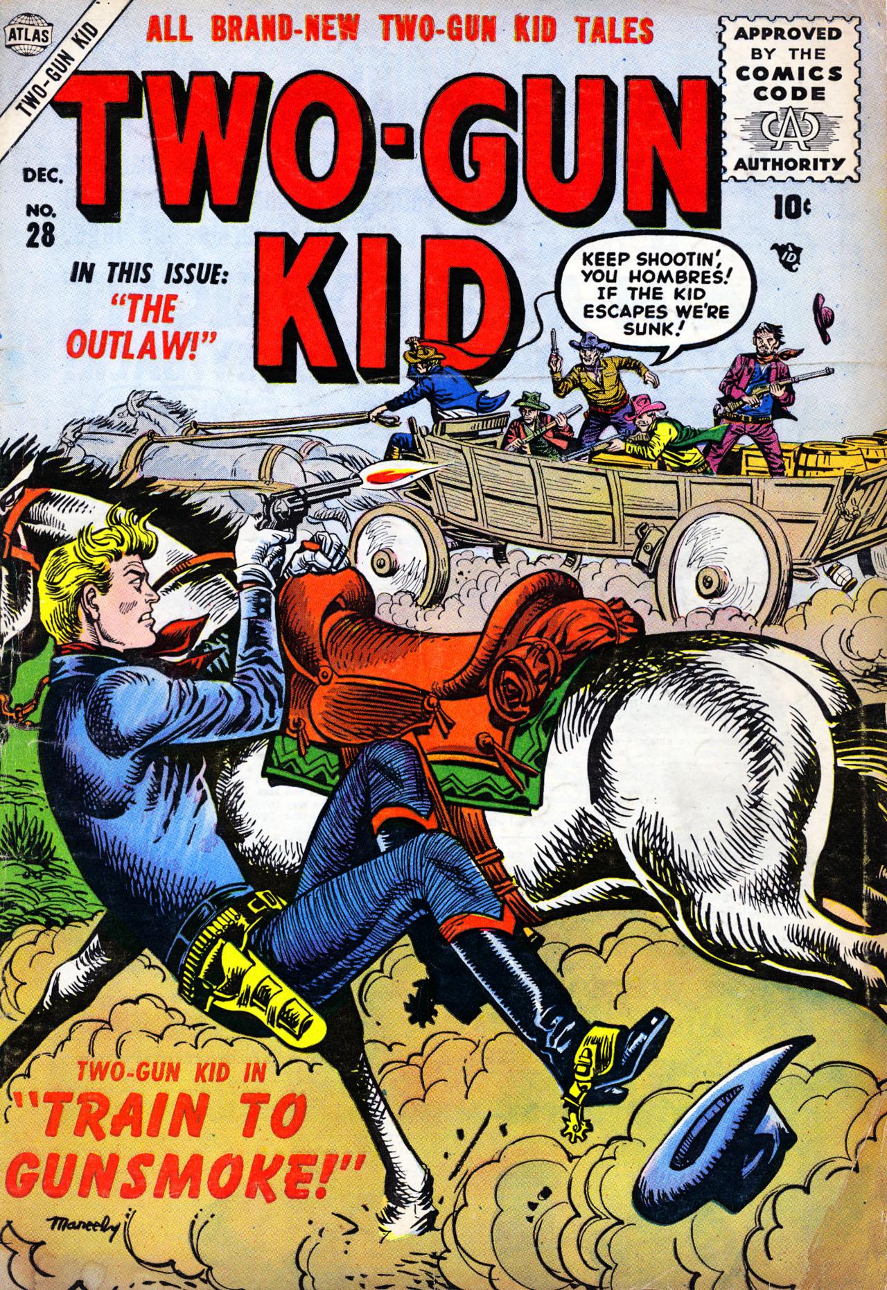 Read online Two-Gun Kid comic -  Issue #28 - 1