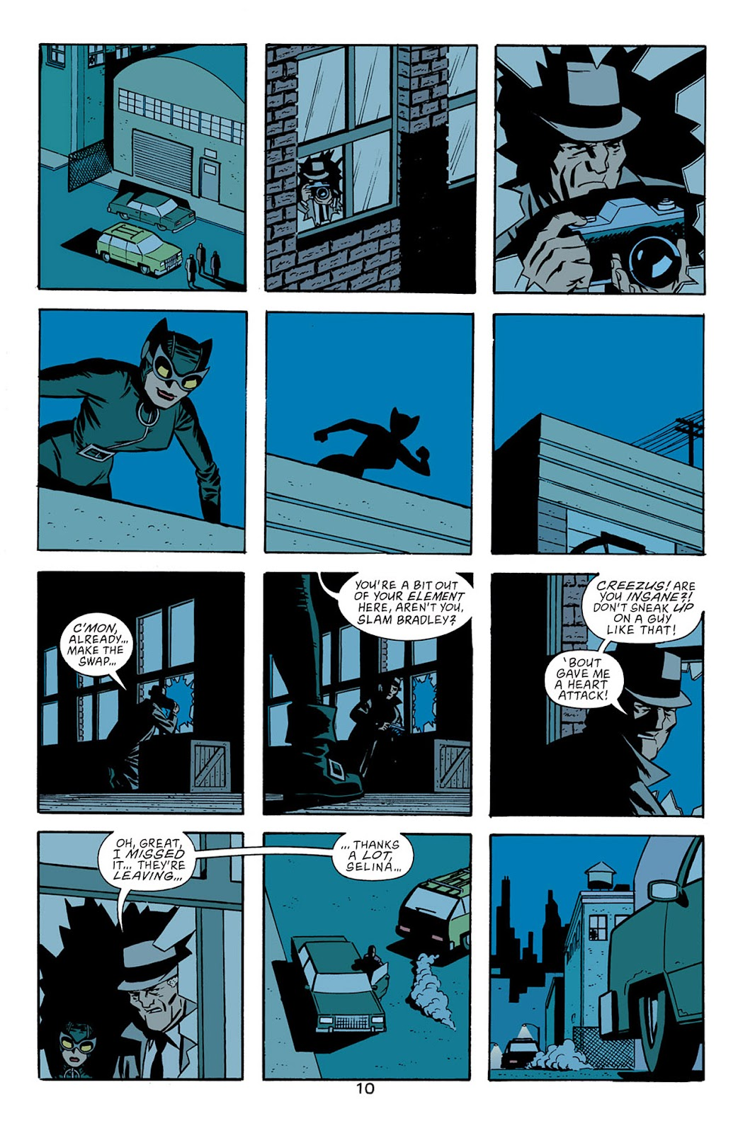 Catwoman (2002) Issue #5 #5 - English 11