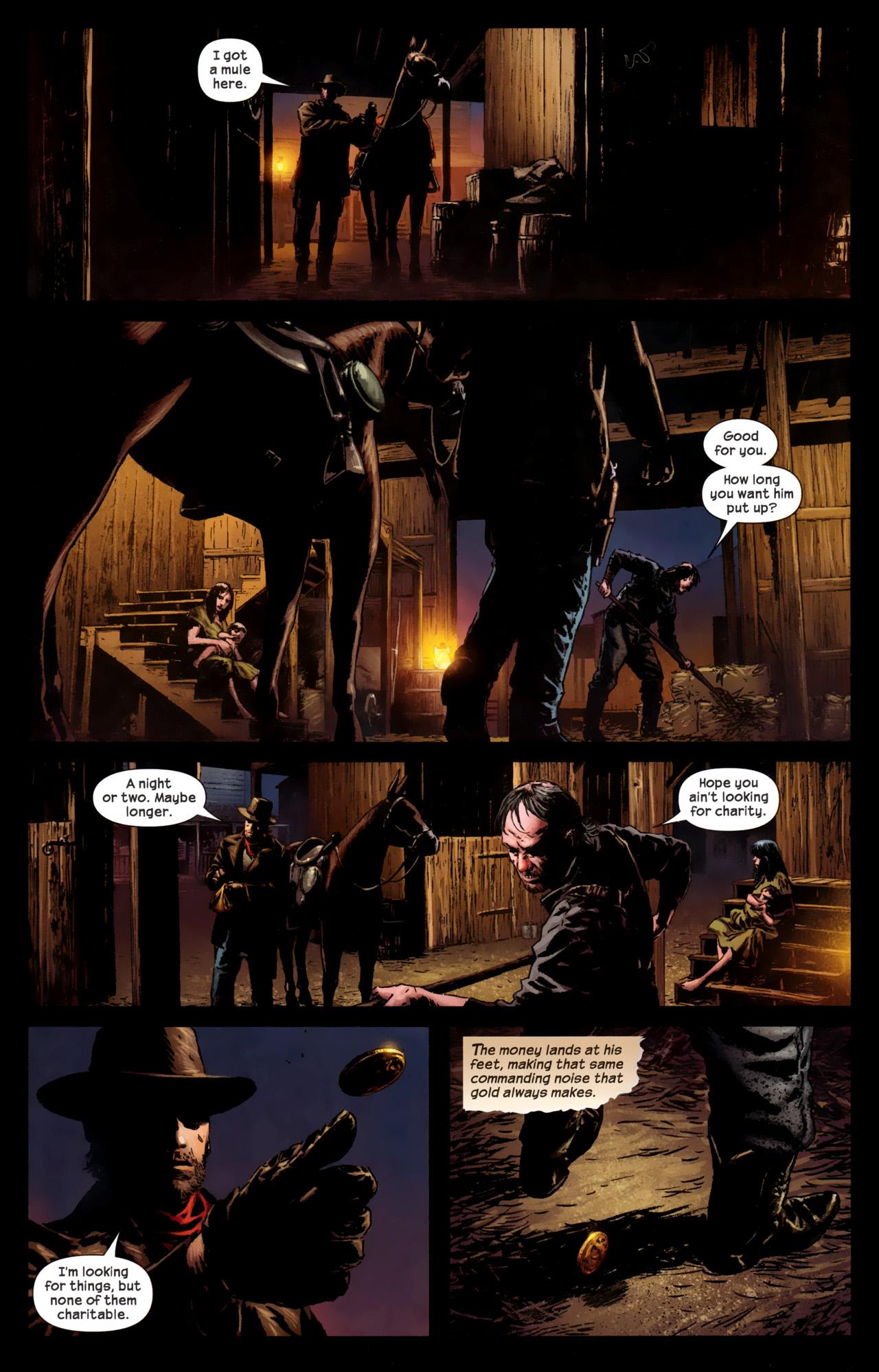 Read online Dark Tower: The Gunslinger - The Battle of Tull comic -  Issue #1 - 14