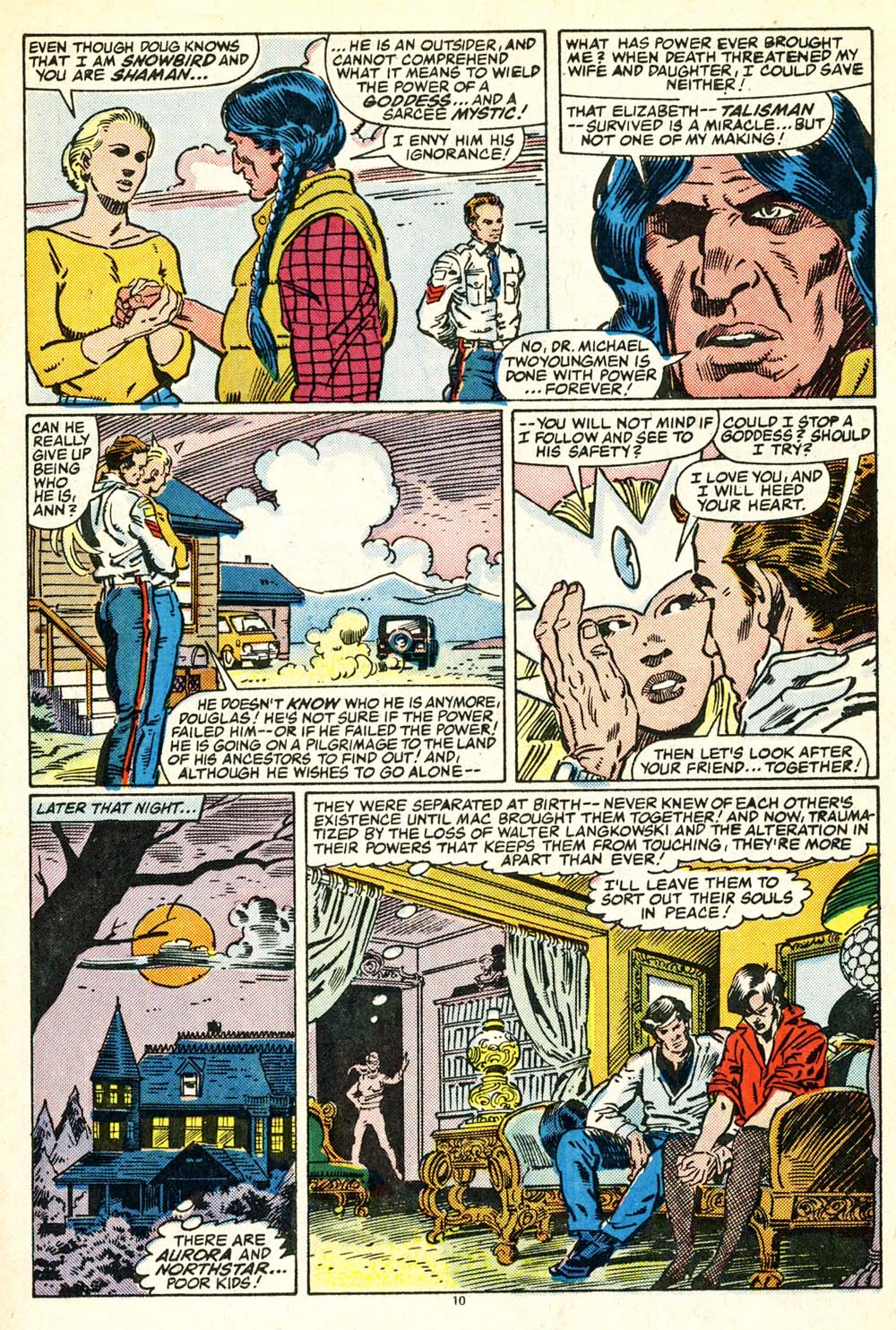 Read online Alpha Flight (1983) comic -  Issue #30 - 11