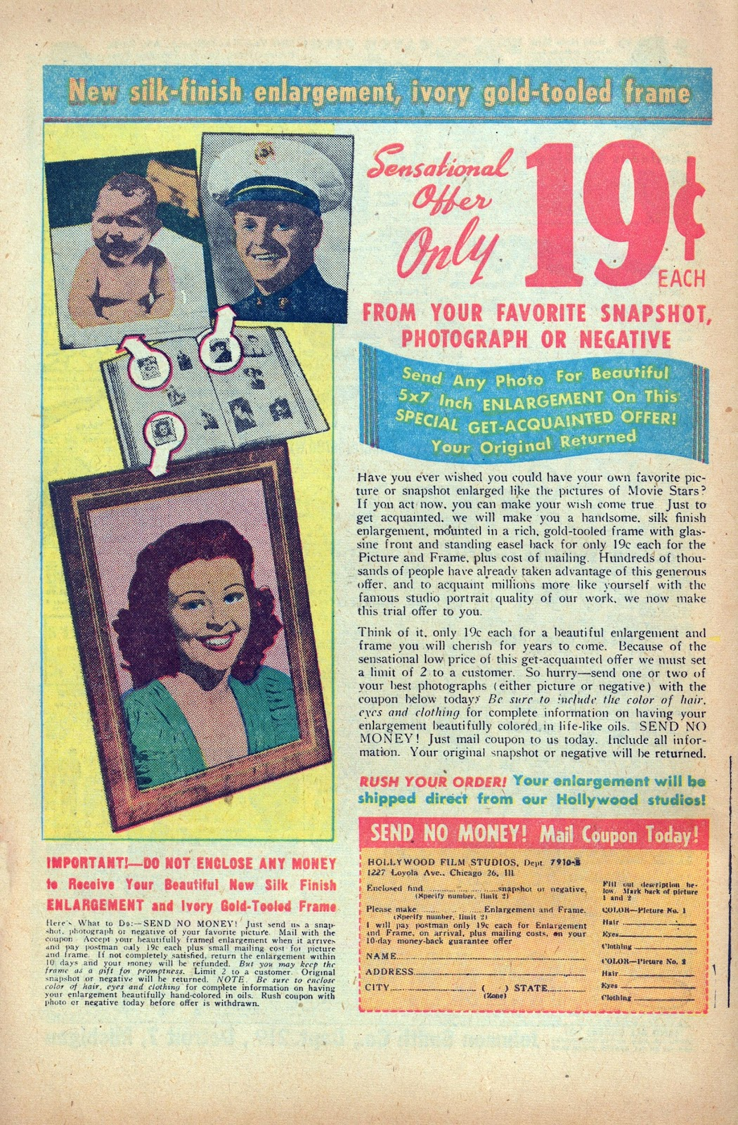 Read online Nellie The Nurse (1945) comic -  Issue #24 - 34