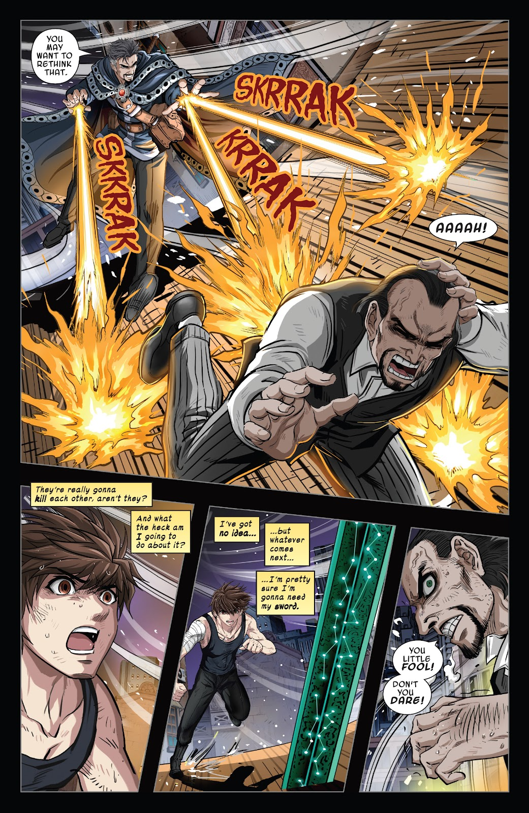 Read online Sword Master comic -  Issue #5 - 17