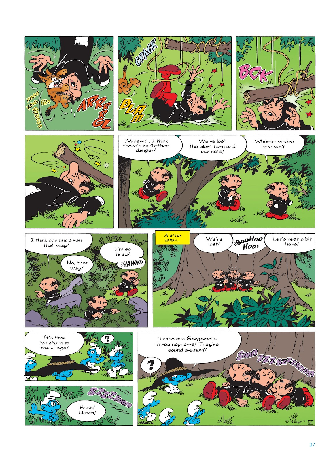 Read online The Smurfs comic -  Issue #17 - 37