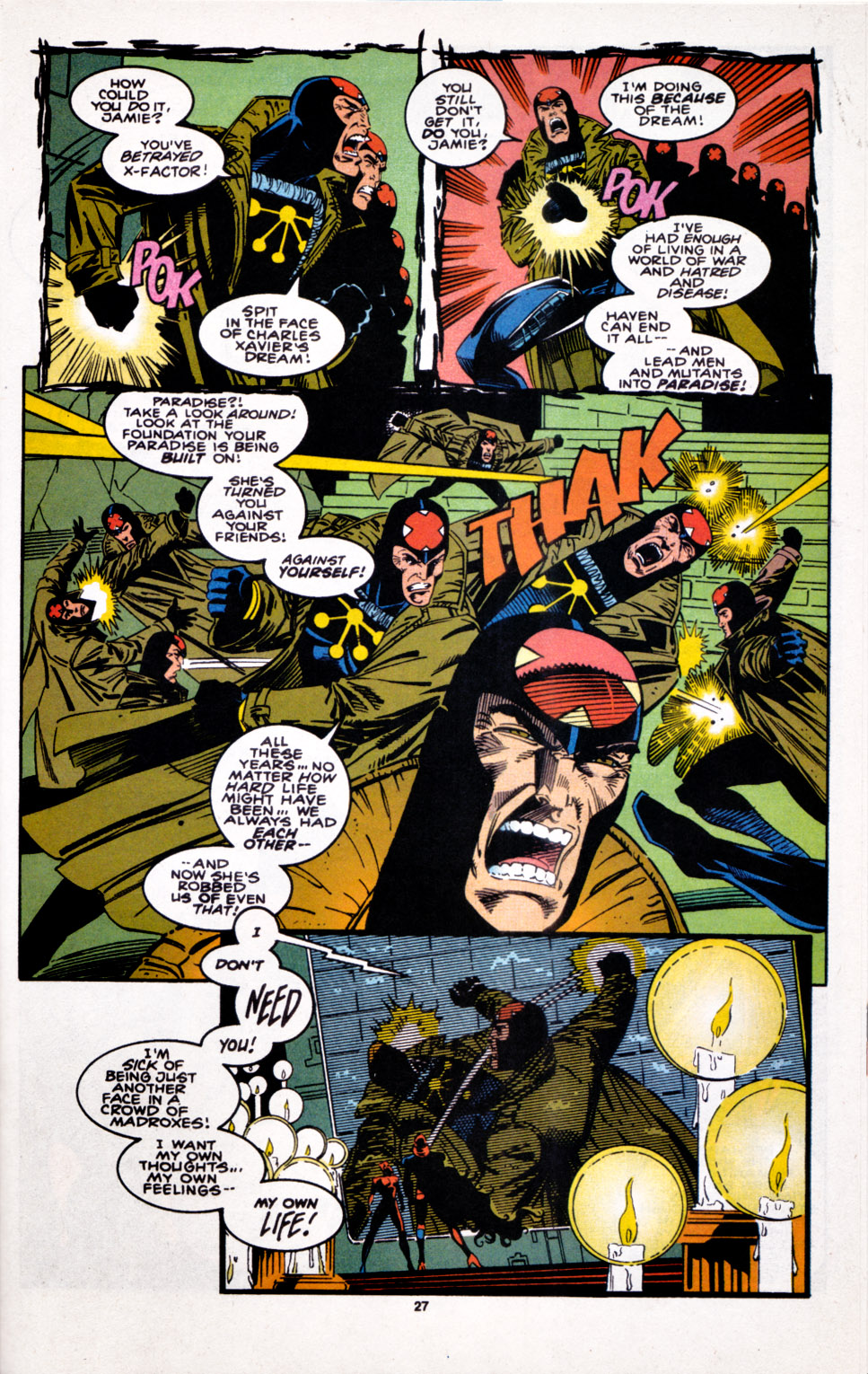 Read online X-Factor (1986) comic -  Issue #100 - 23