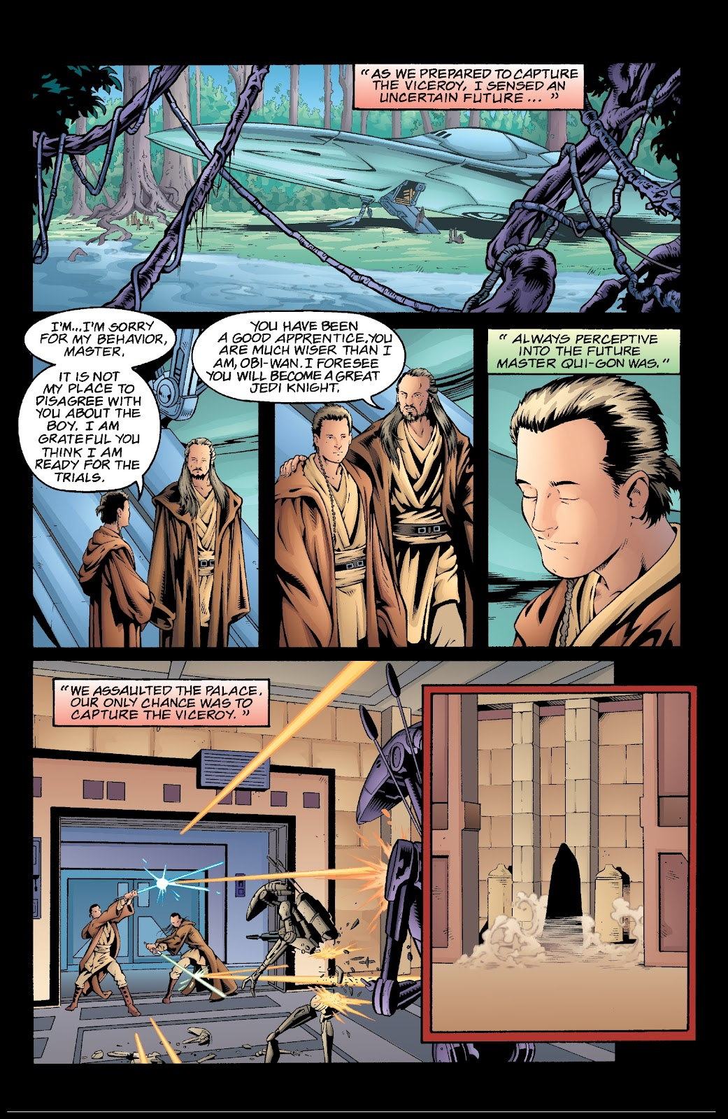 Read online Star Wars Legends: Rise of the Sith - Epic Collection comic -  Issue # TPB 2 (Part 5) - 40