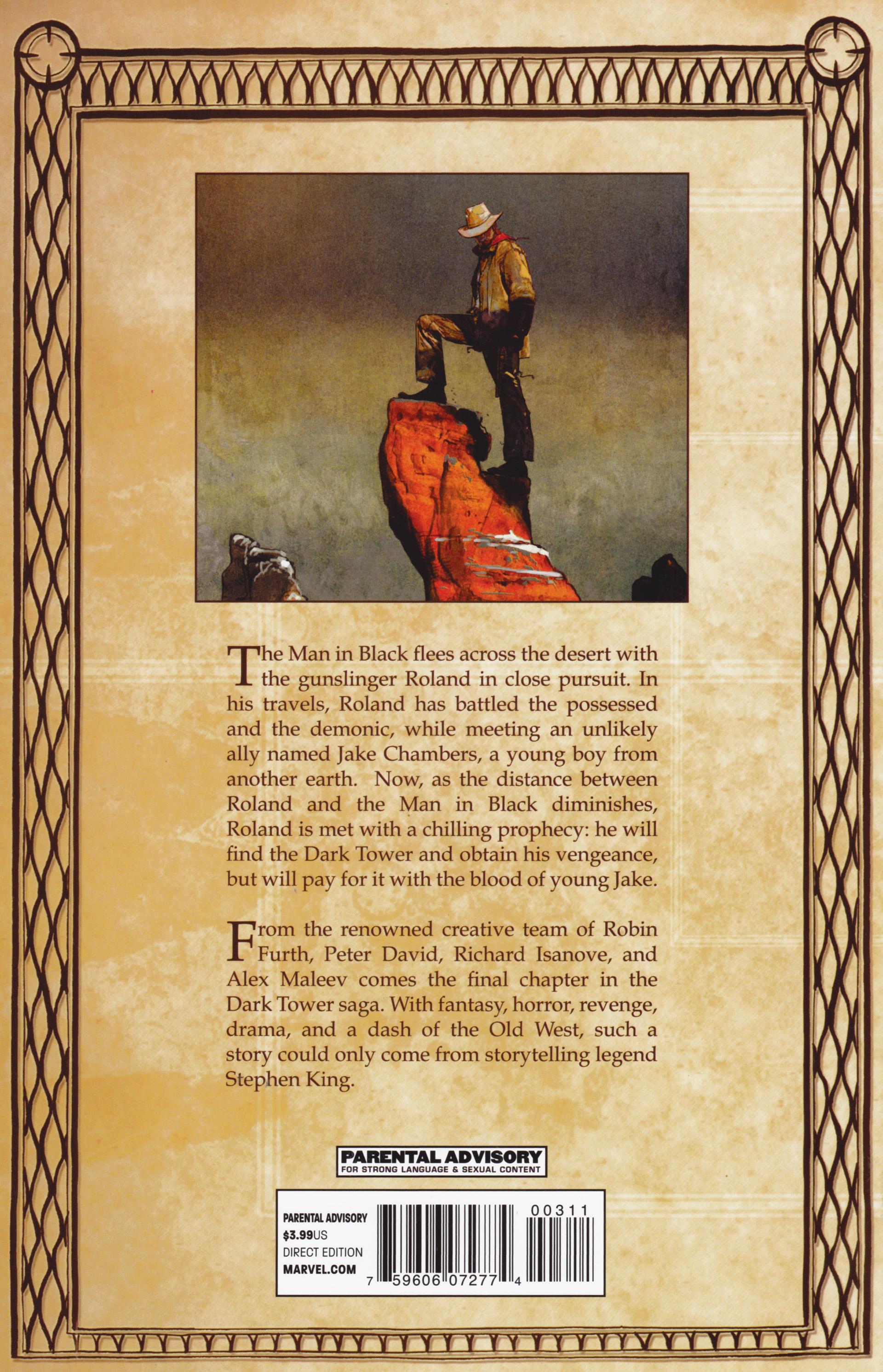 Read online Dark Tower: The Gunslinger - The Man in Black comic -  Issue #3 - 30
