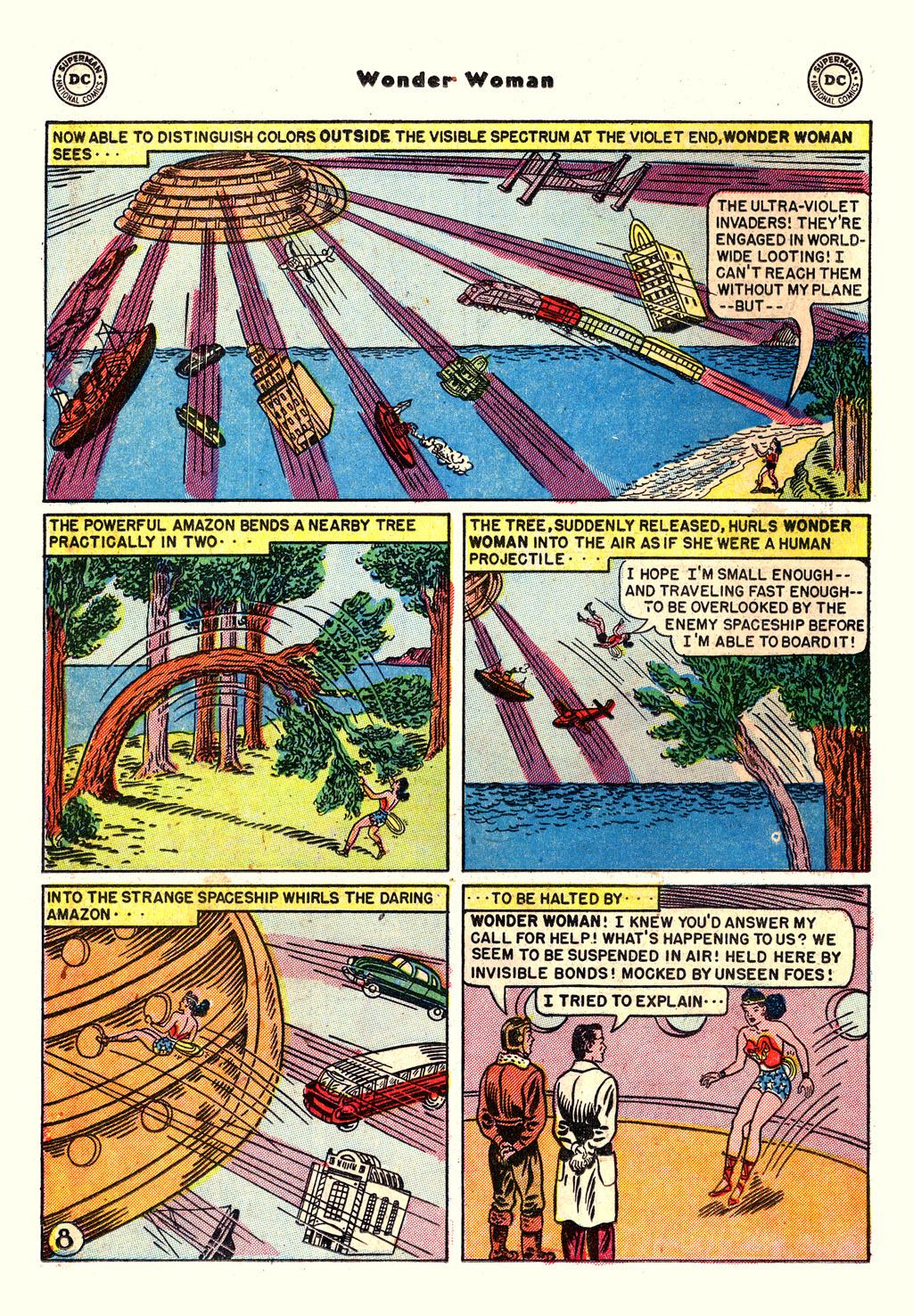 Read online Wonder Woman (1942) comic -  Issue #54 - 22