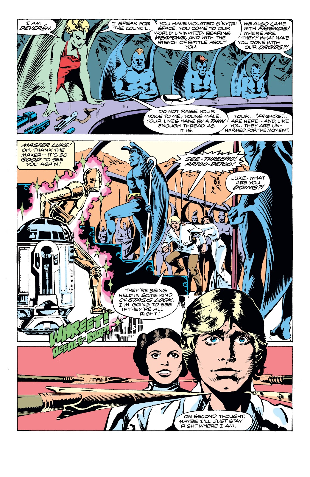 Read online Star Wars Legends: The Original Marvel Years - Epic Collection comic -  Issue # TPB 2 (Part 3) - 21