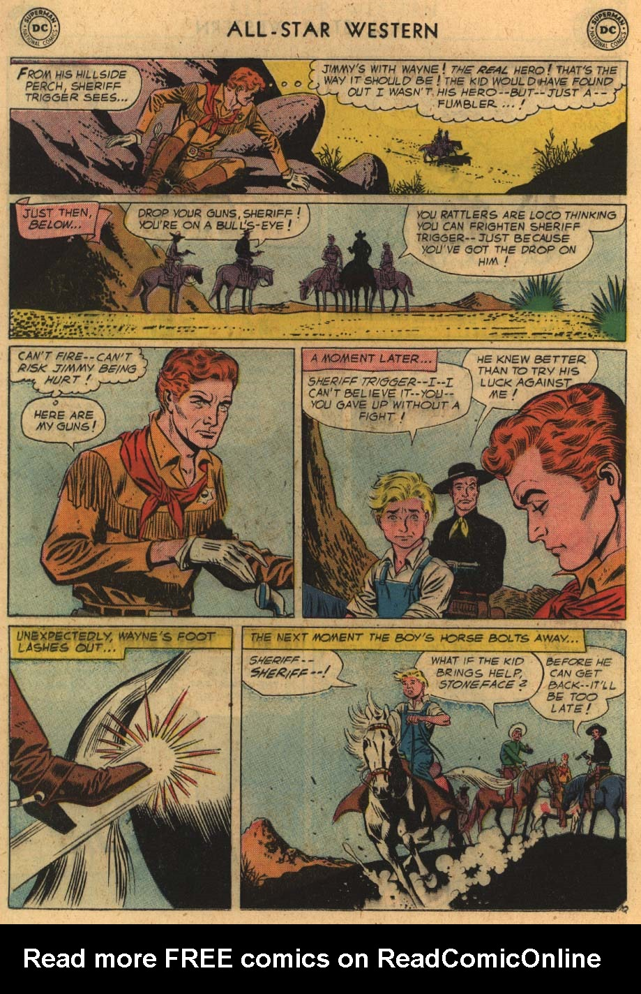 Read online All-Star Western (1951) comic -  Issue #100 - 12