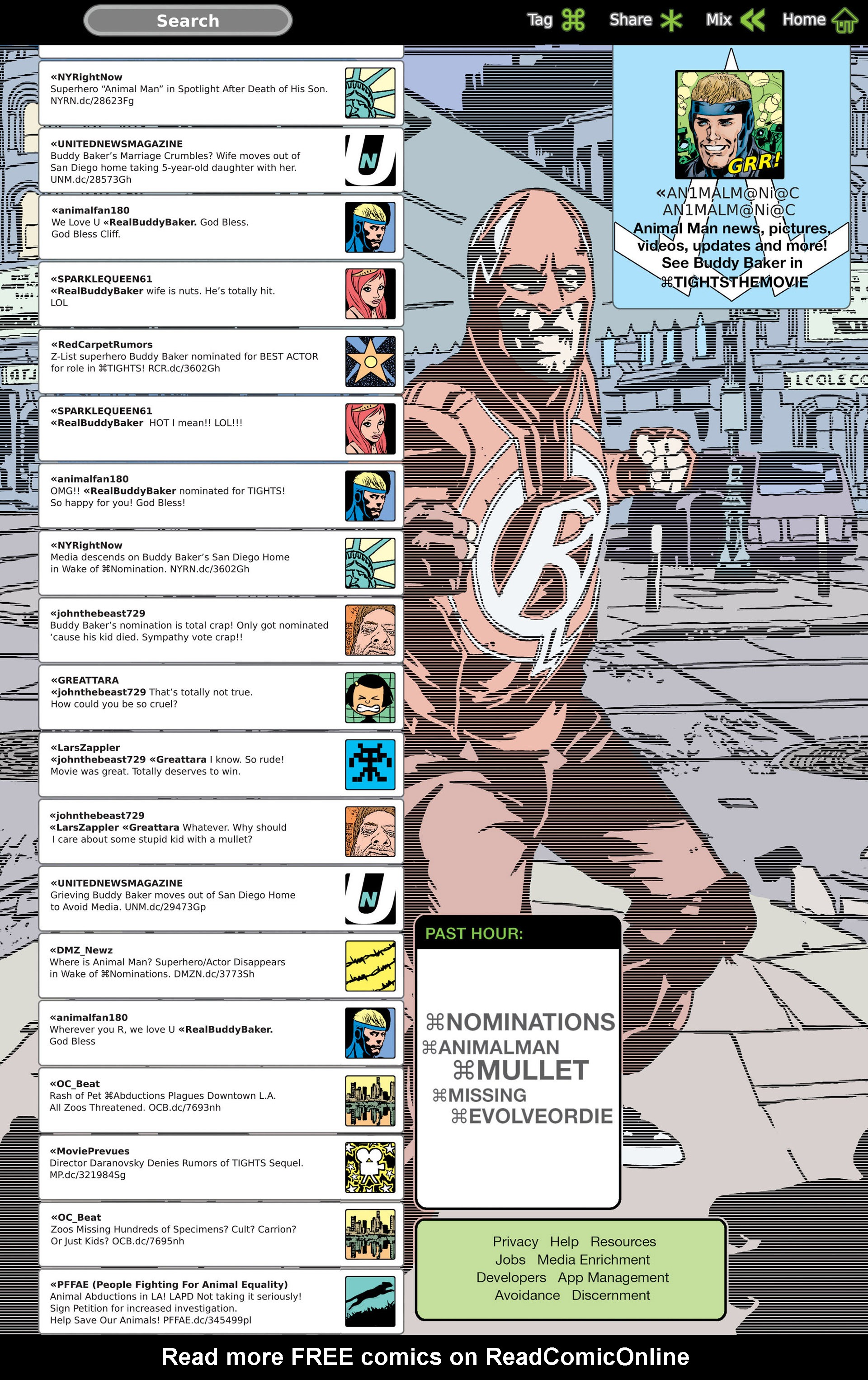Read online Animal Man (2011) comic -  Issue #21 - 2