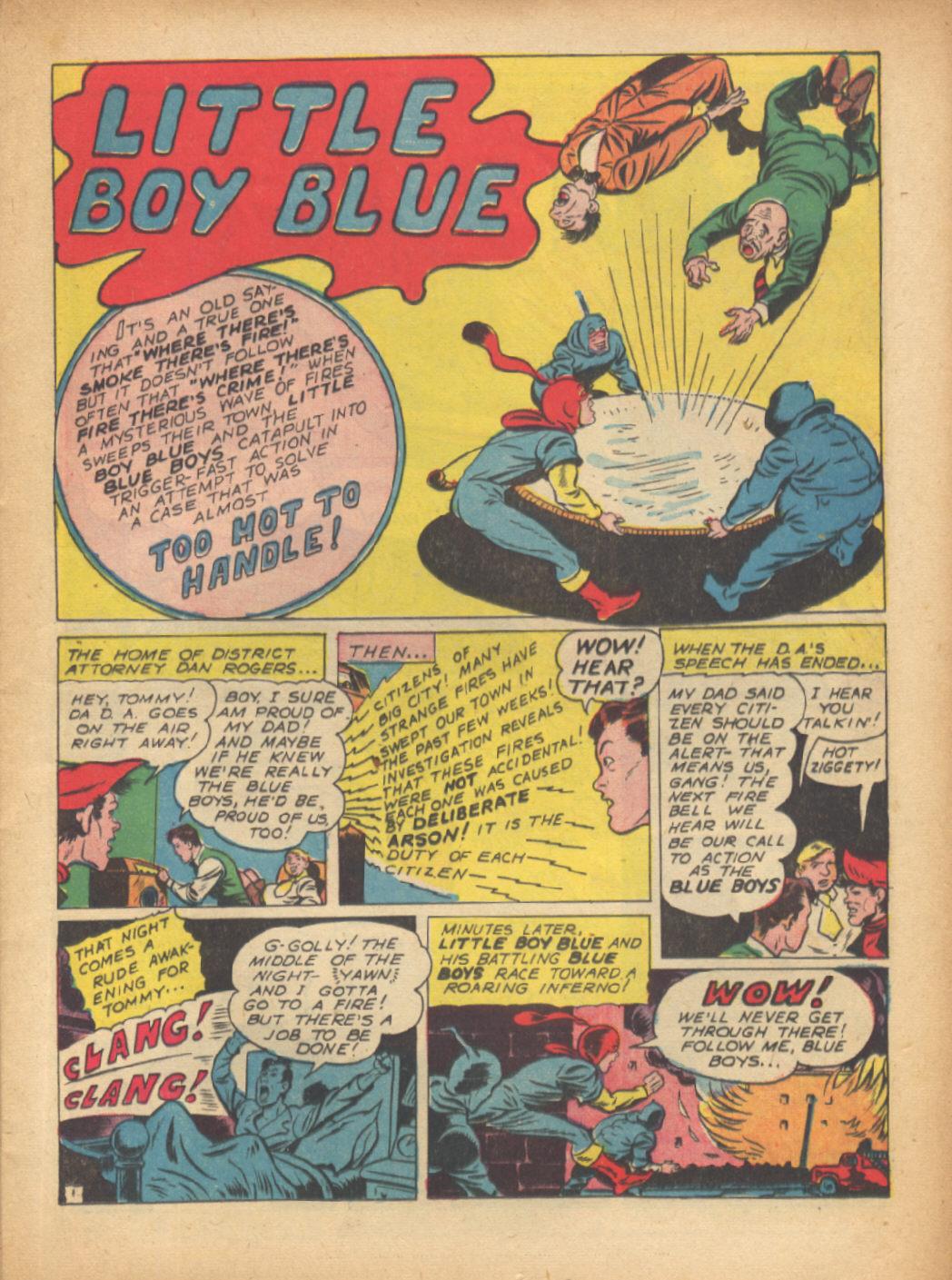 Read online Sensation (Mystery) Comics comic -  Issue #24 - 25
