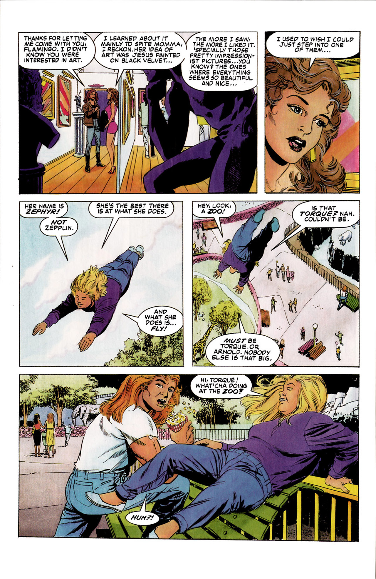 Read online Harbinger (1992) comic -  Issue #5 - 5