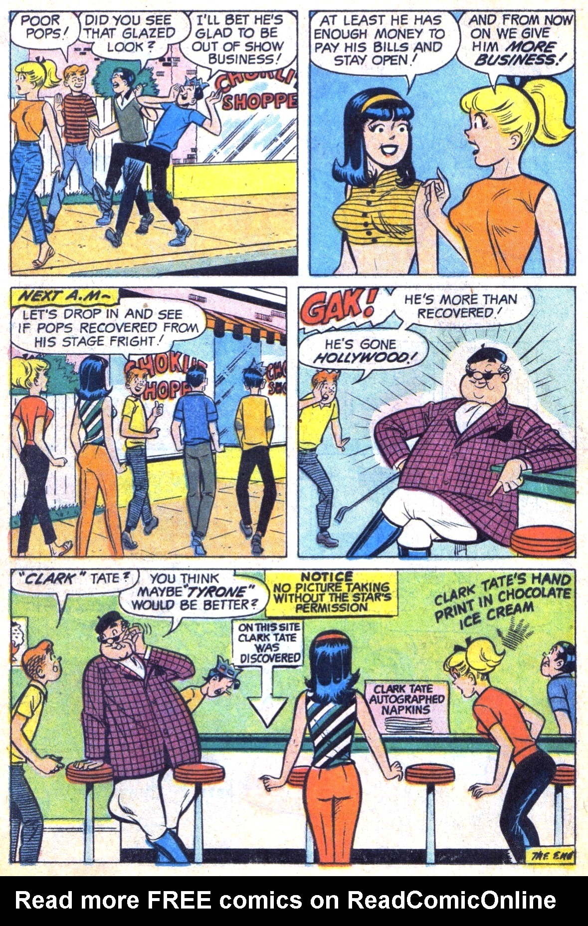 Read online Archie (1960) comic -  Issue #185 - 18