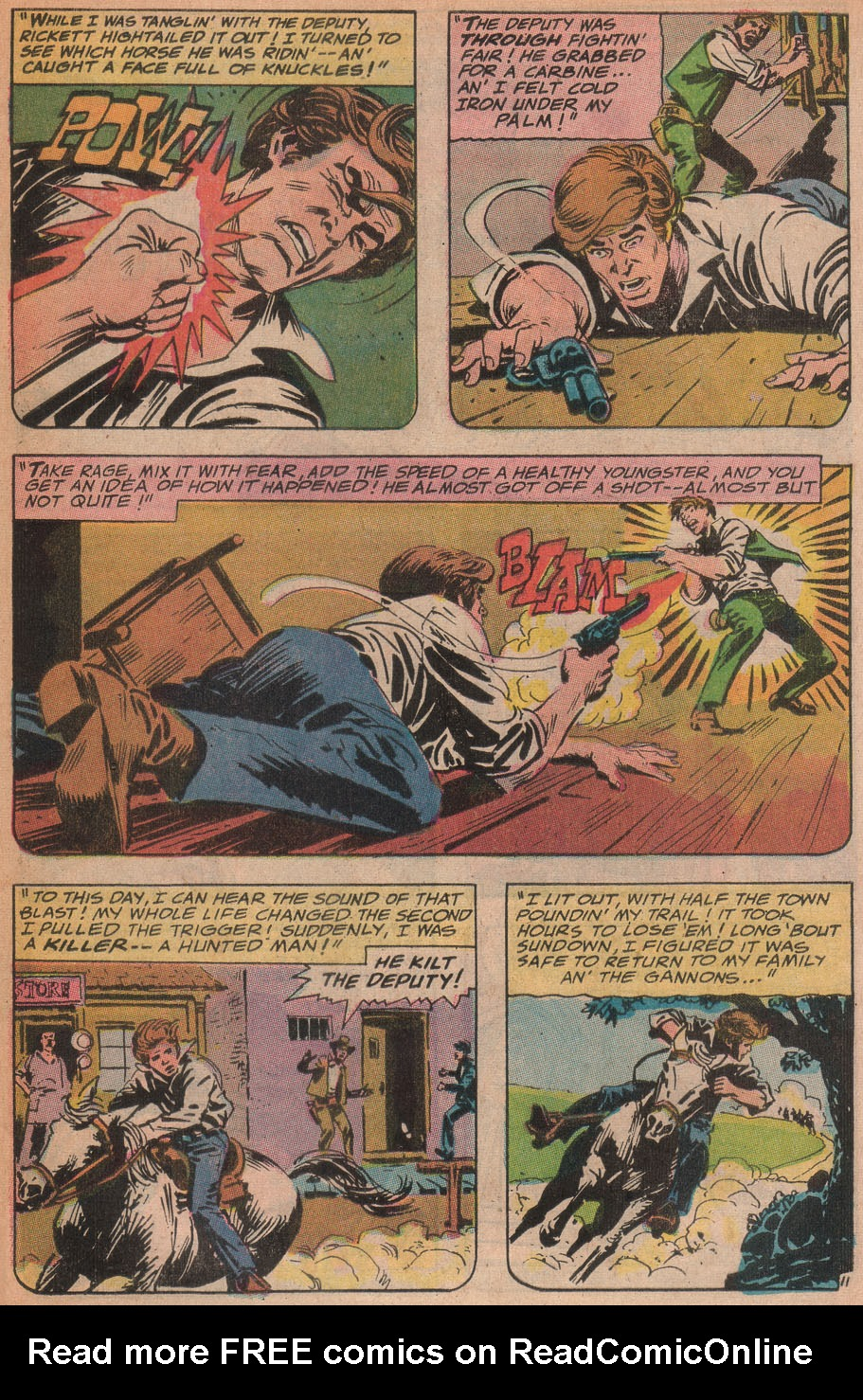 Read online All-Star Western (1970) comic -  Issue #9 - 47