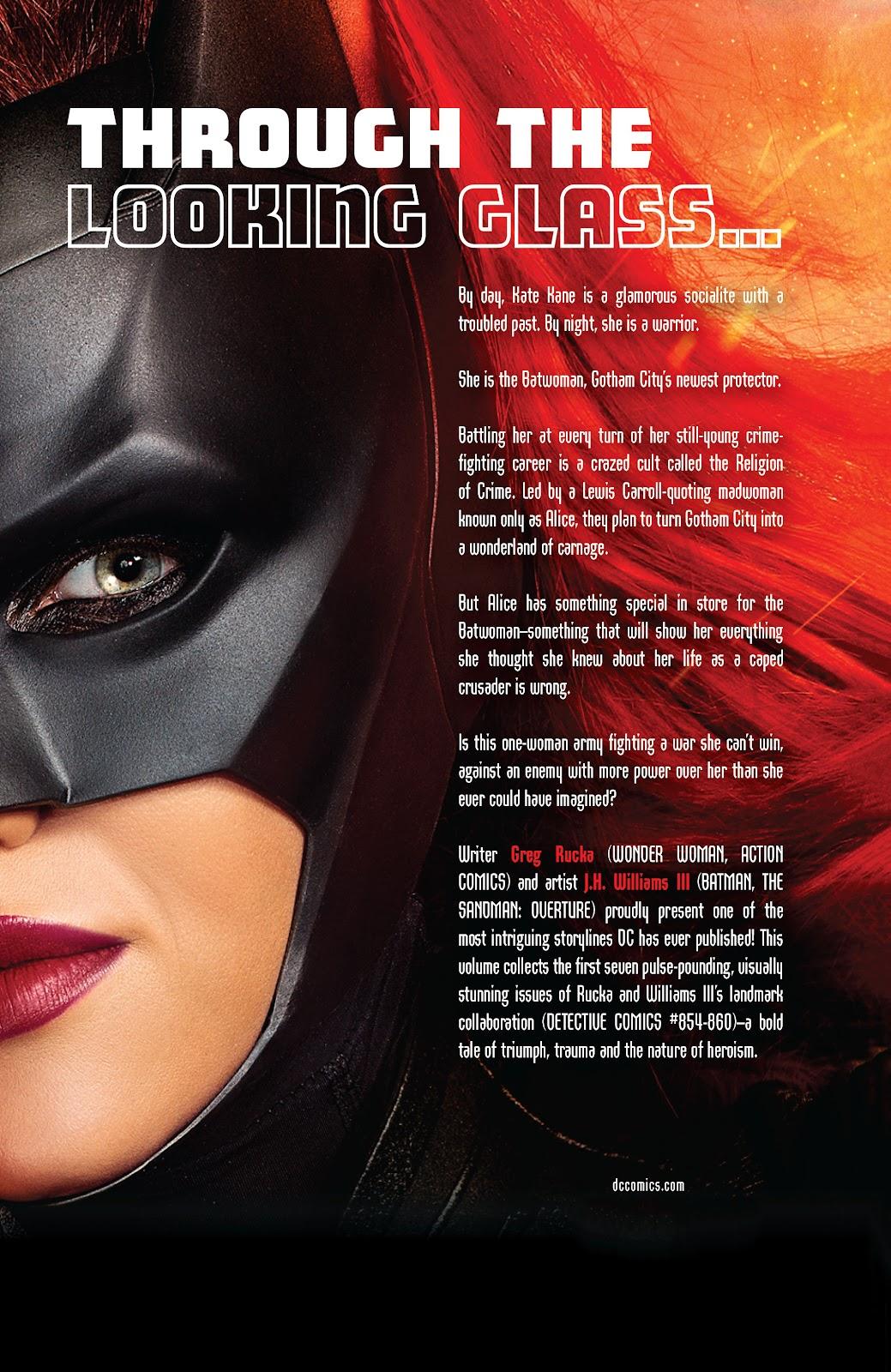 Read online Detective Comics (1937) comic -  Issue # _TPB Batwoman – Elegy (New Edition) (Part 2) - 55