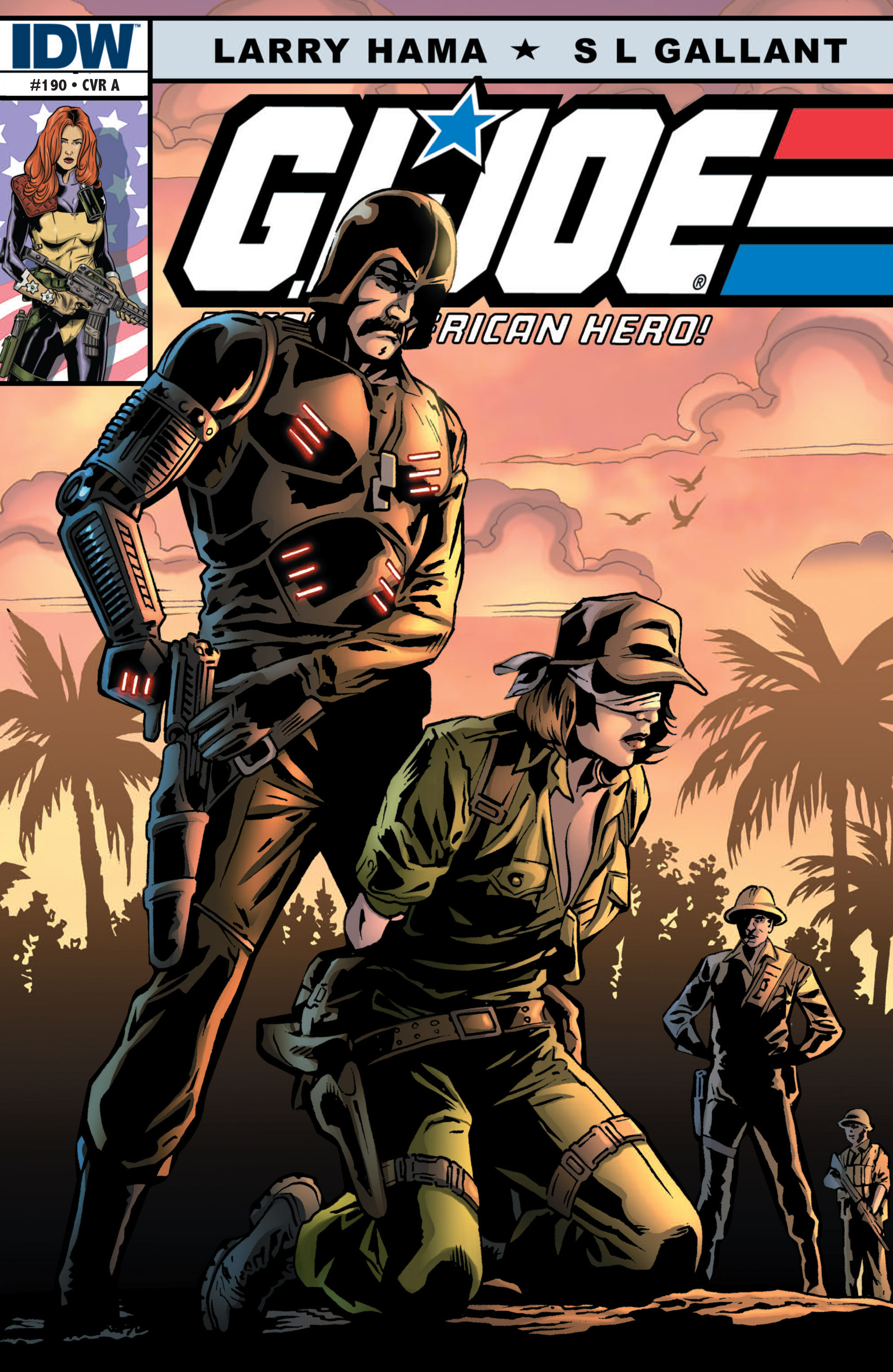 G.I. Joe: A Real American Hero 190 Page 1