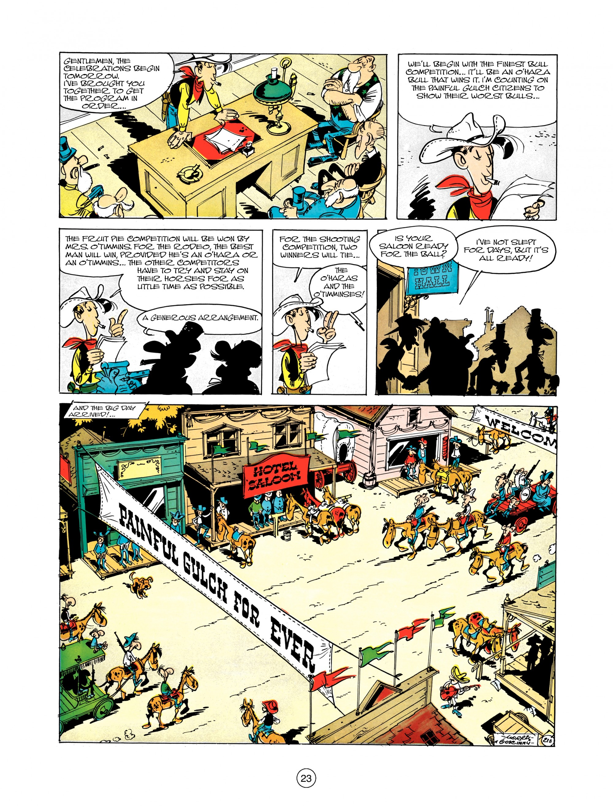 Read online A Lucky Luke Adventure comic -  Issue #12 - 23